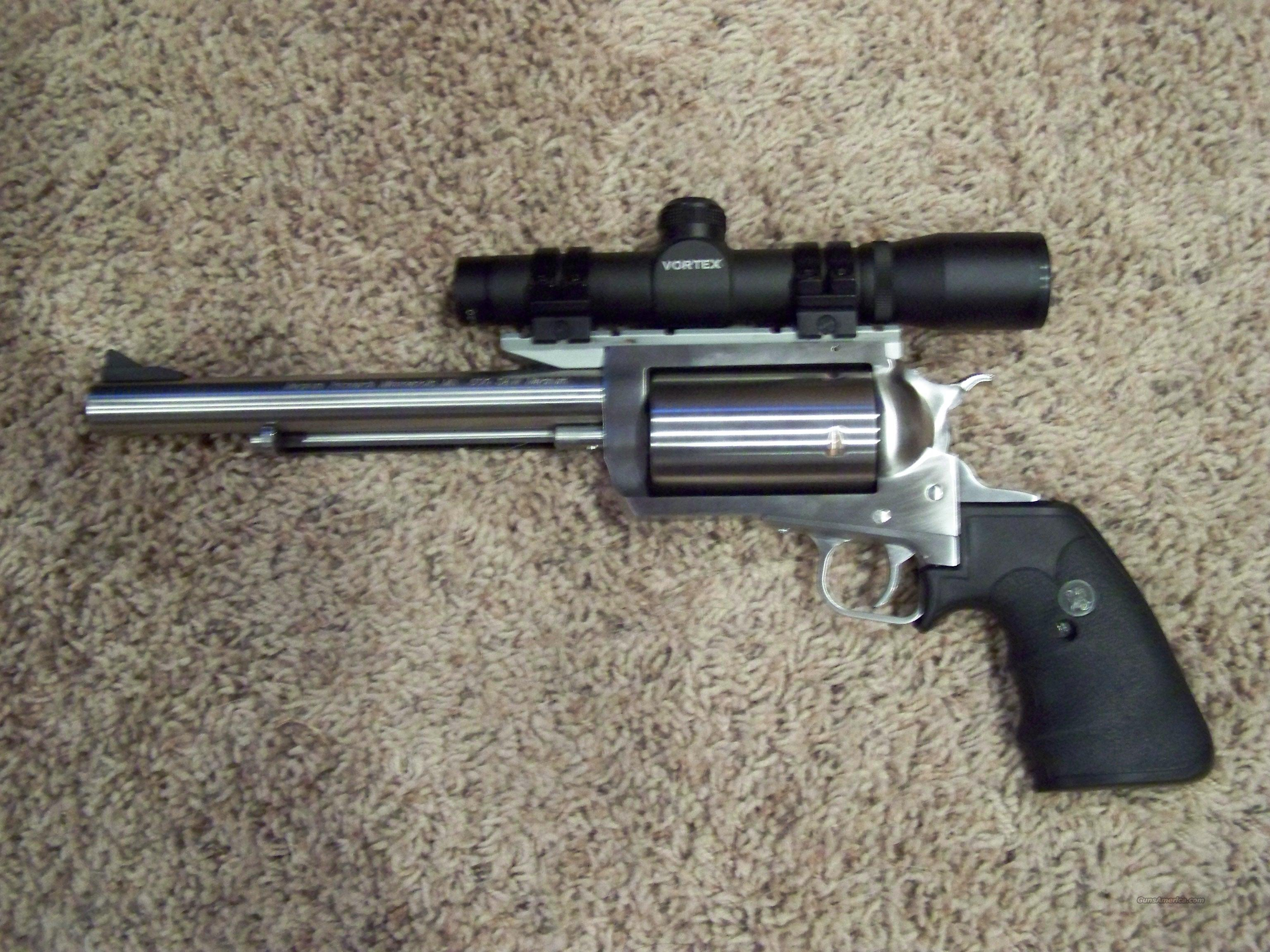 Magnum Research BFR 500 S&W Mag REDUCED!  WITH SCOPE!  Guns > Pistols > Magnum Research Pistols