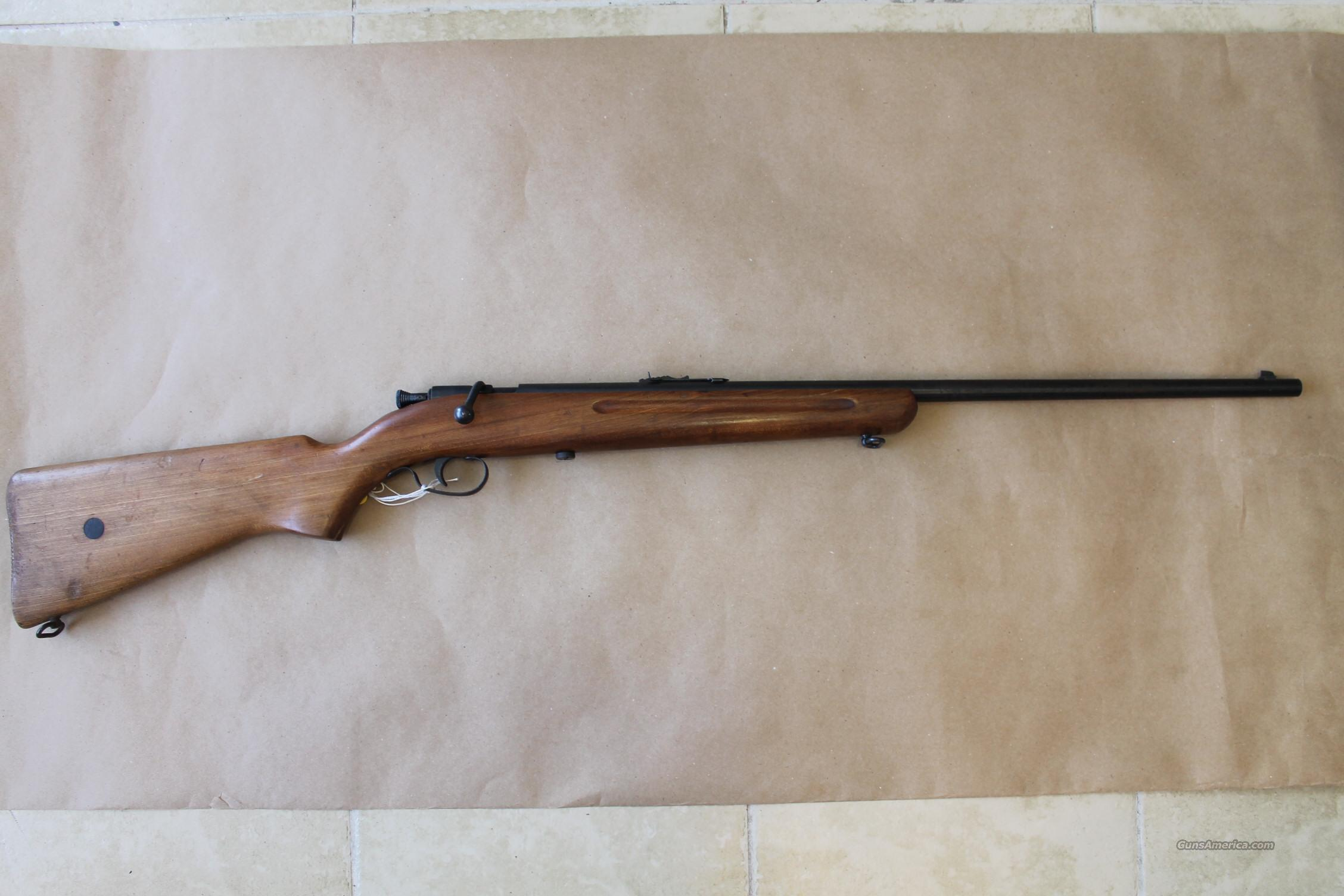 MODEL 1B MADE BY SAF LITHGOW FOR SLAZENGERS (AUST)  PTY, BOLT-ACTION RIFLE, .22 LR!!!   Guns > Rifles > S Misc Rifles