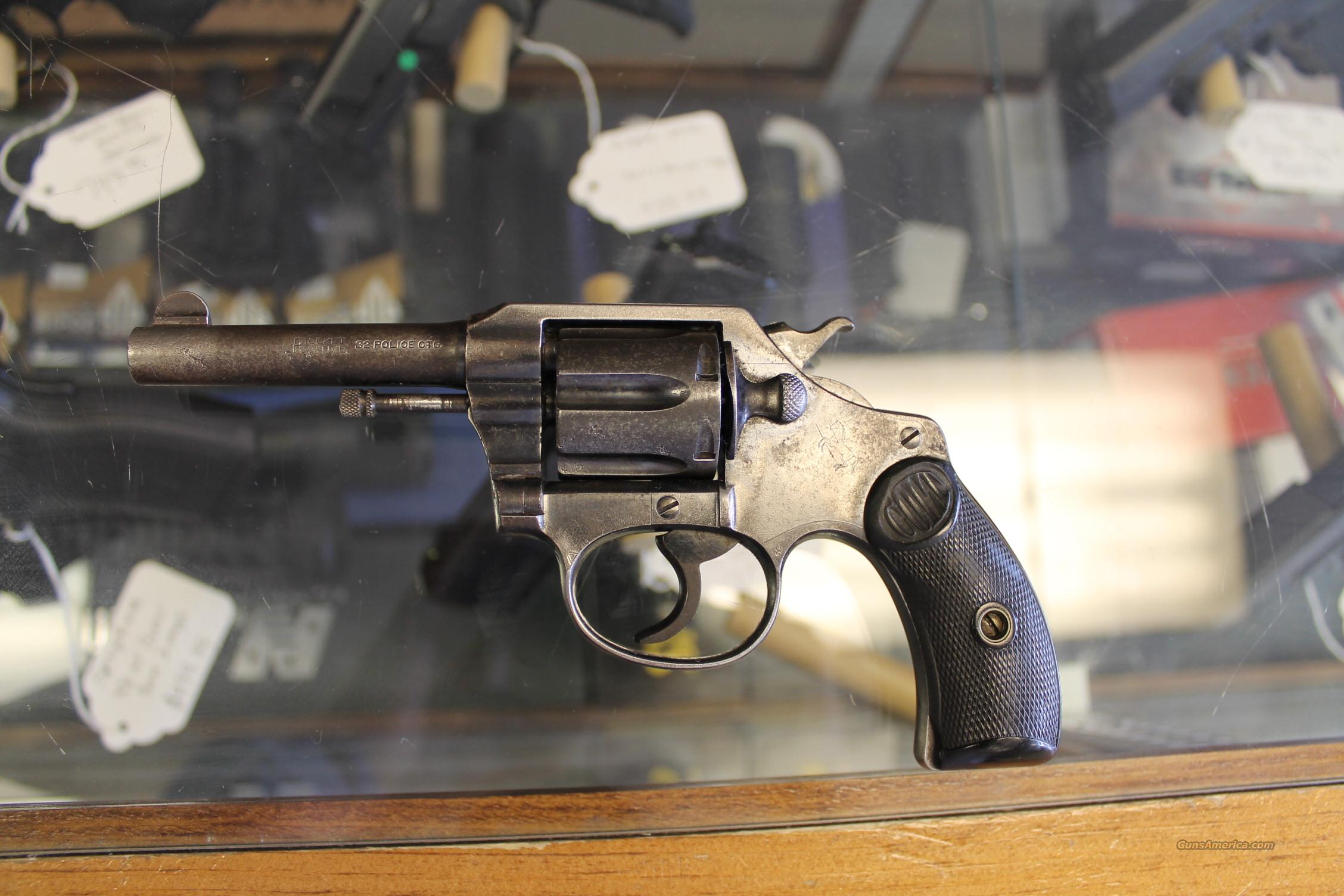 COLT POCKET POSITIVE **FIRST ISSUE**  Guns > Pistols > Colt Double Action Revolvers- Pre-1945