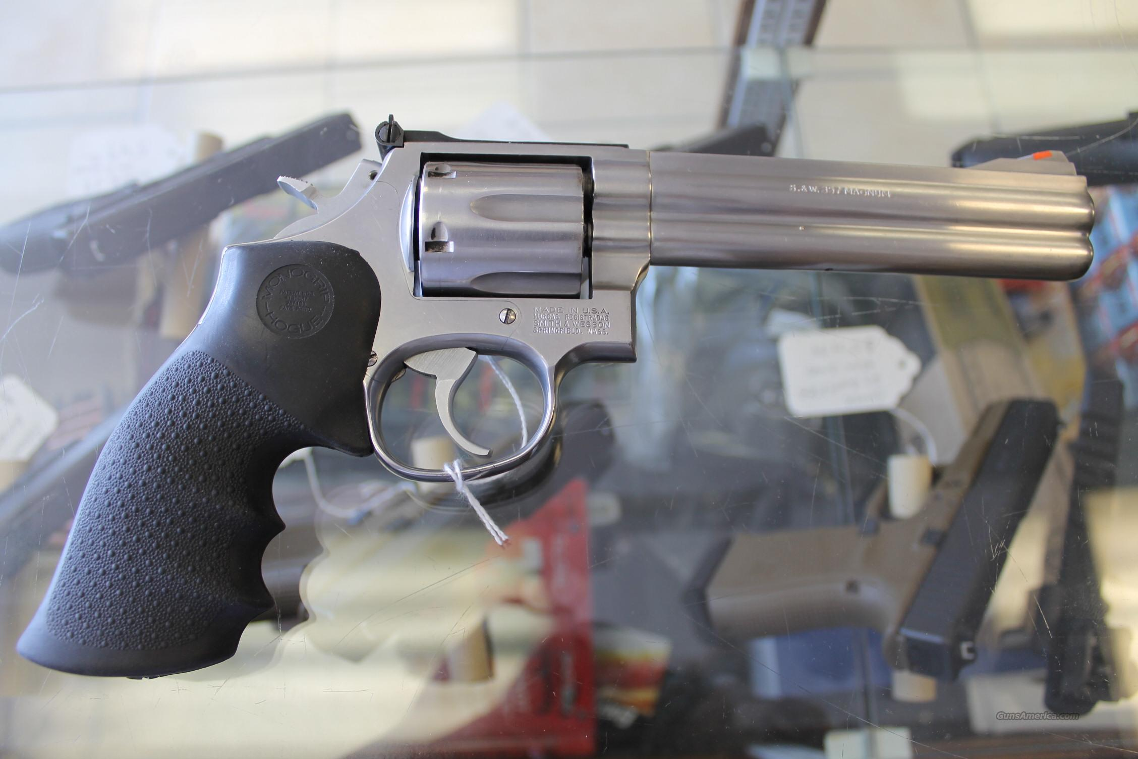 "SMITH AND WESSON 686 357 MAGNUM 6"" BARREL  Guns > Pistols > Smith & Wesson Revolvers > Full Frame Revolver"
