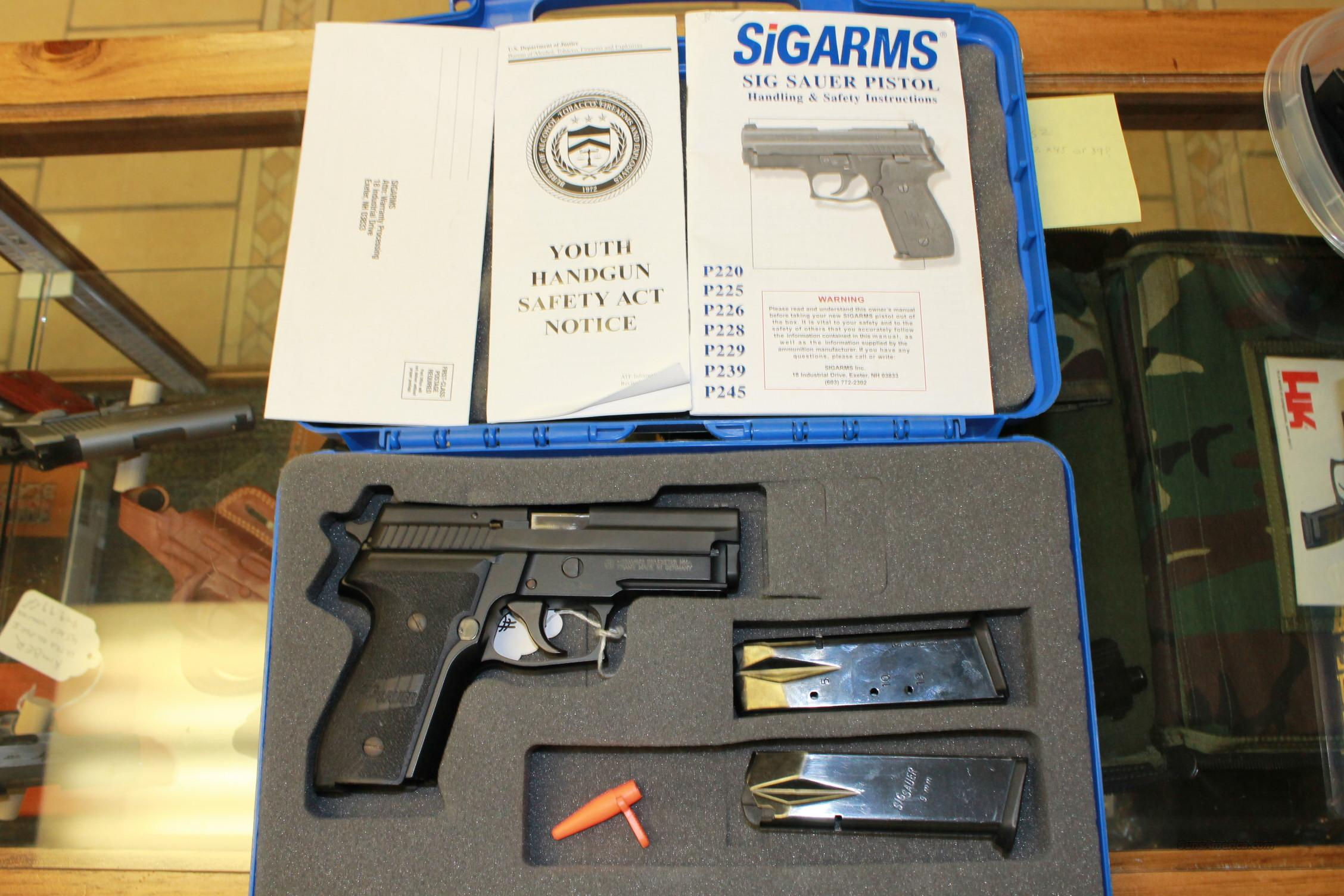 **REDUCED**SIG SAUER P229 9mm  Guns > Pistols > Sig - Sauer/Sigarms Pistols > P229
