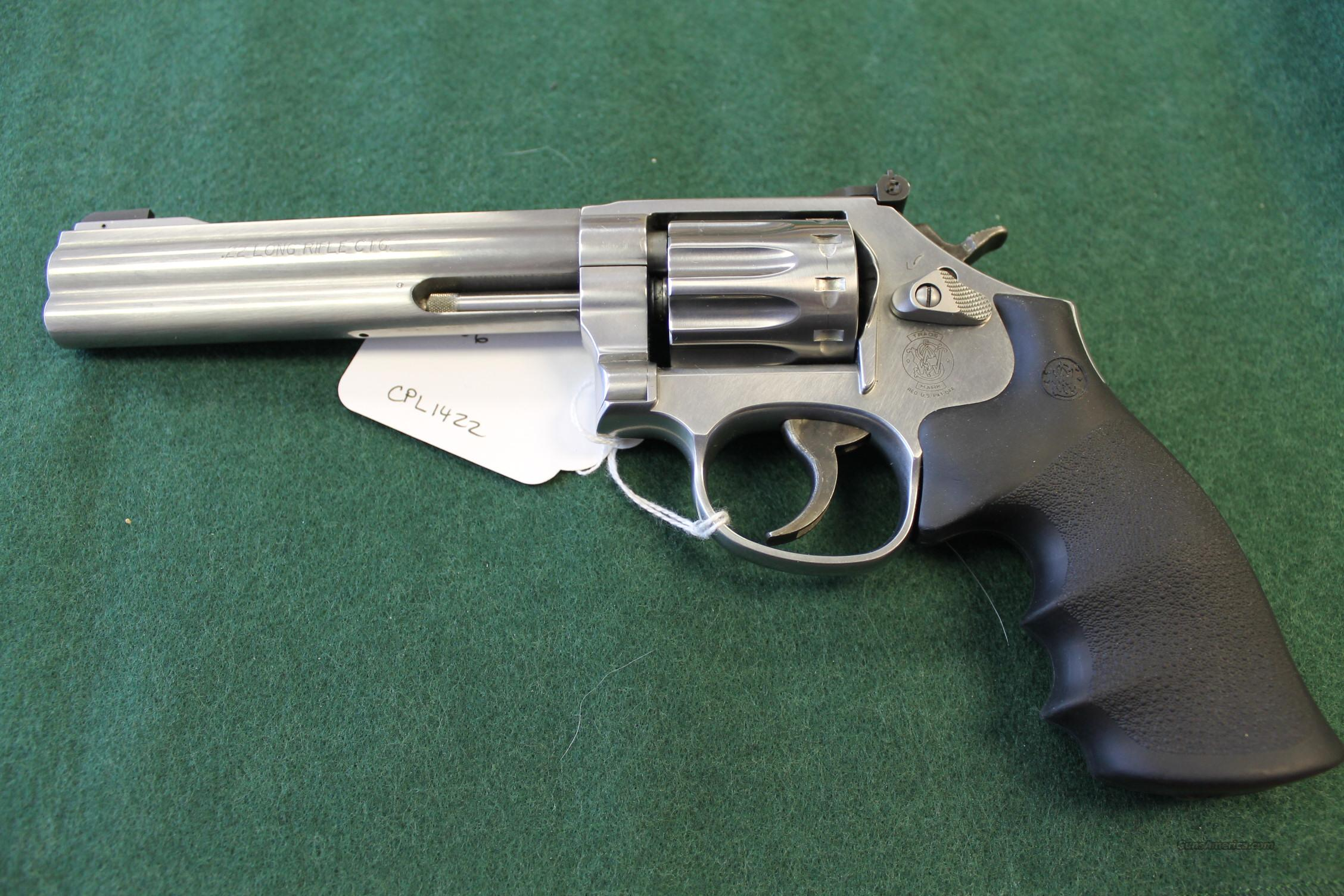 SMITH & WESSON 617 10shot 22cal REVOLVER  Guns > Pistols > Smith & Wesson Revolvers > Full Frame Revolver