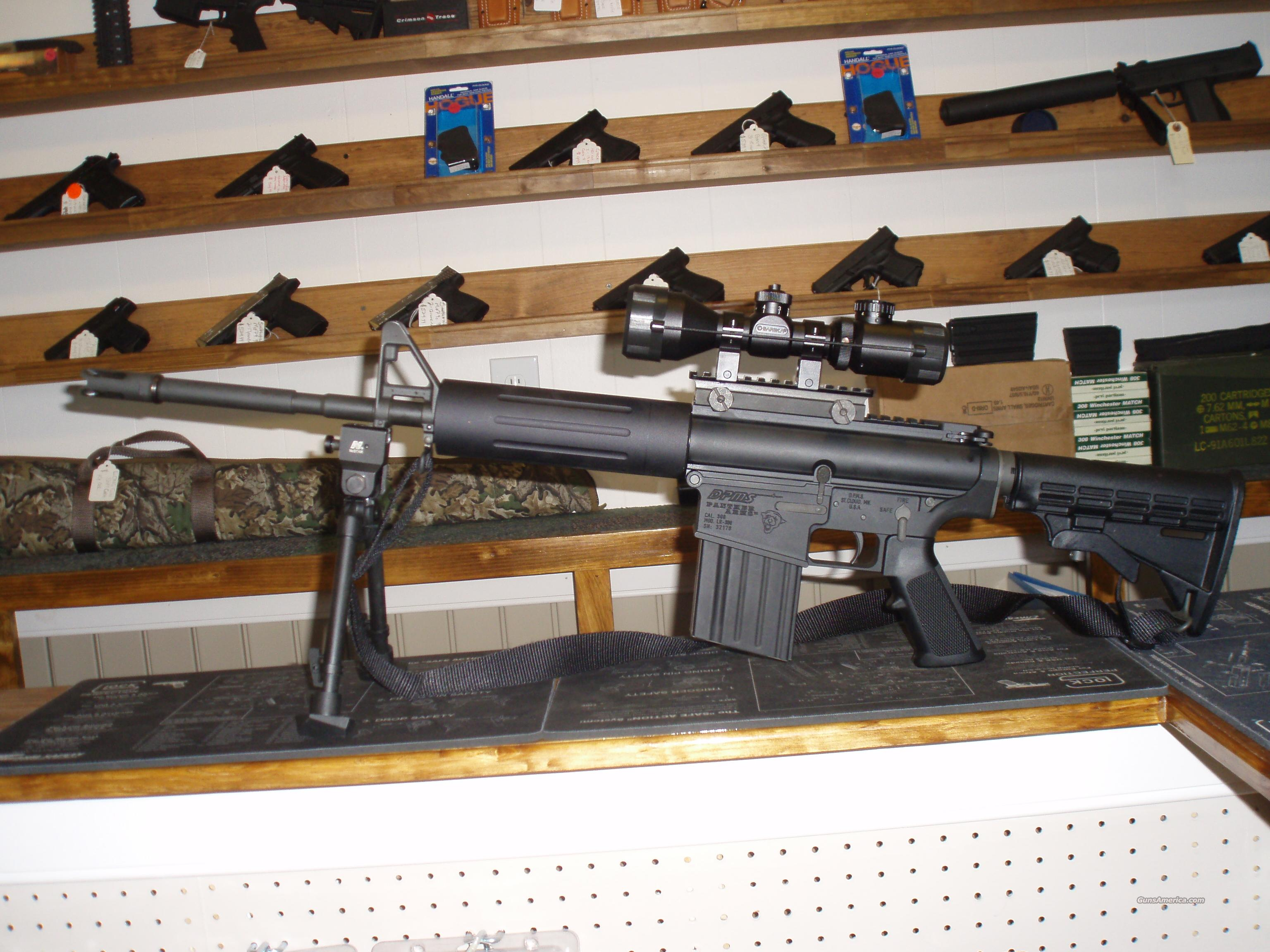 DPMS PANTHER LR-308 W/ 500+ROUNDS & 3 MAGS  Guns > Rifles > DPMS - Panther Arms > Complete Rifle