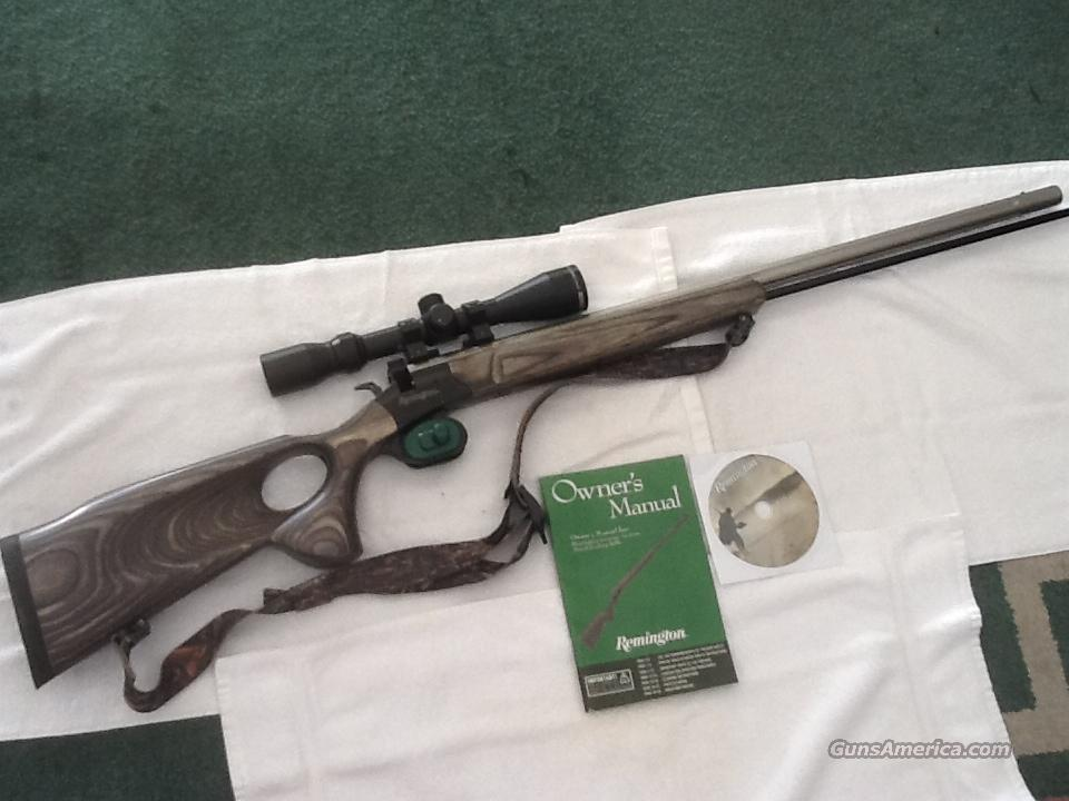 Remington Genesis .50 CAL In-Line Muzzleloader & Scope  Guns > Rifles > Muzzleloading Modern & Replica Rifles (perc) > Modern Inline