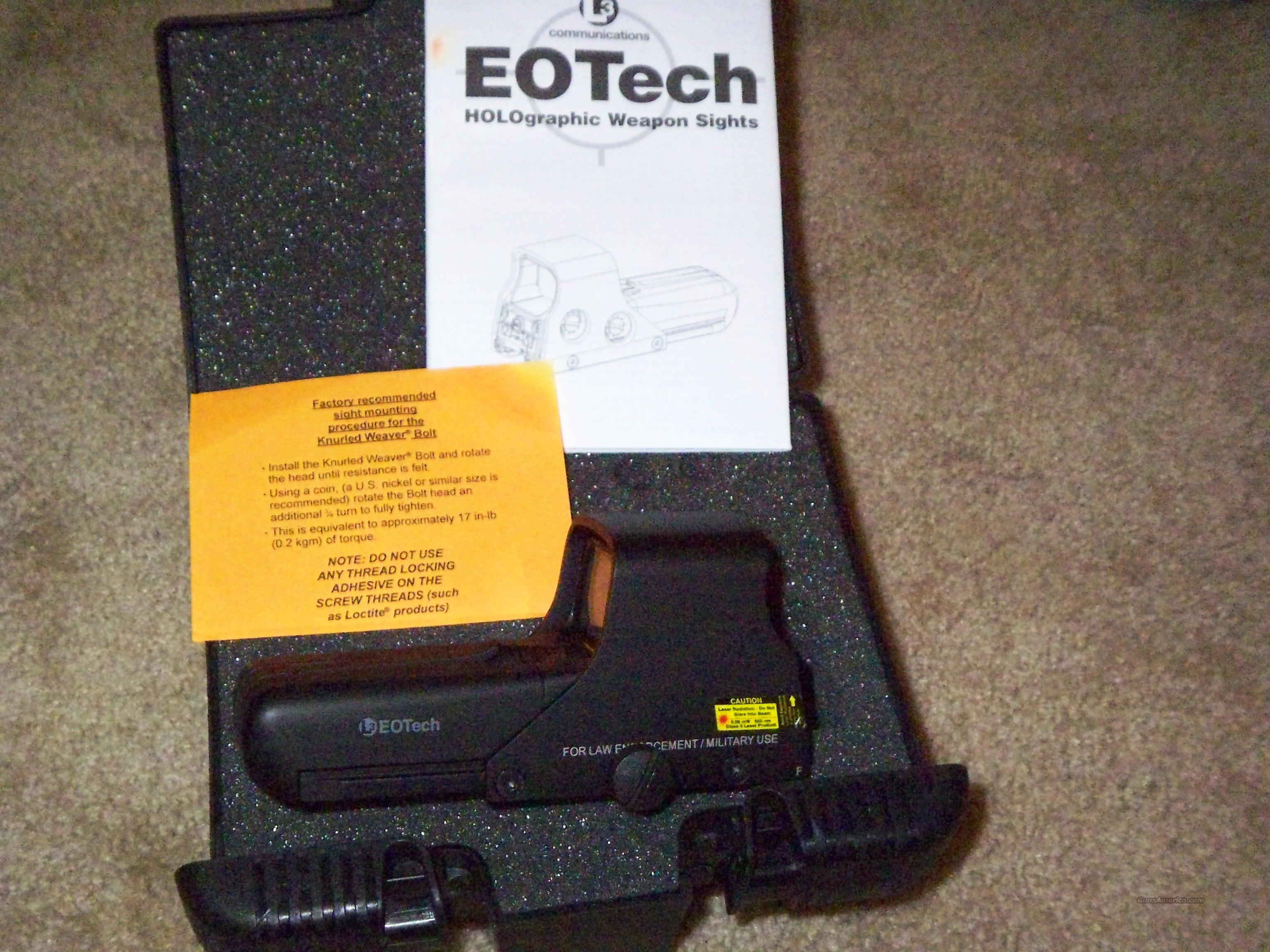 Eotech 512.A65 Holographic Weapons Sight  Non-Guns > Scopes/Mounts/Rings & Optics > Tactical Scopes > Other Head-Up Optics