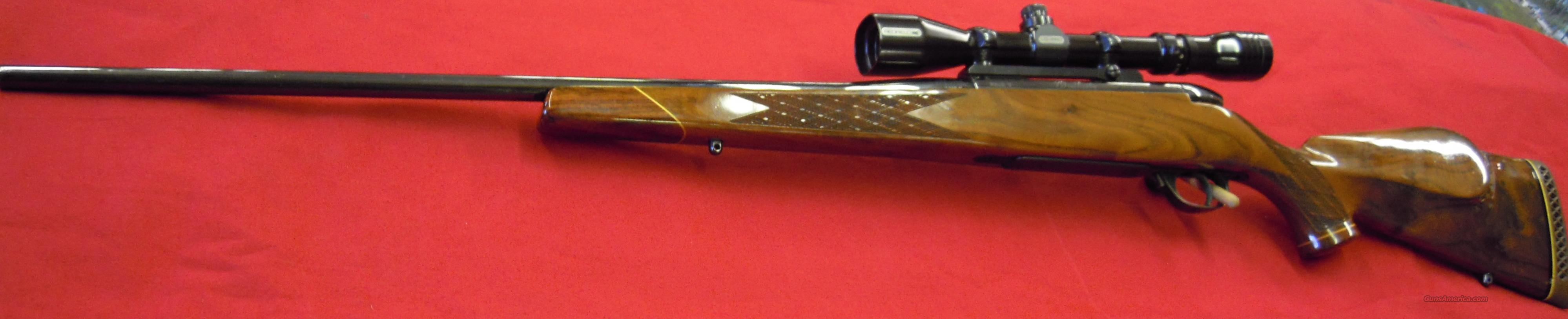 Weatherby Mark V Deluxe - Shot only to sight !!!!  Guns > Rifles > Weatherby Rifles > Sporting
