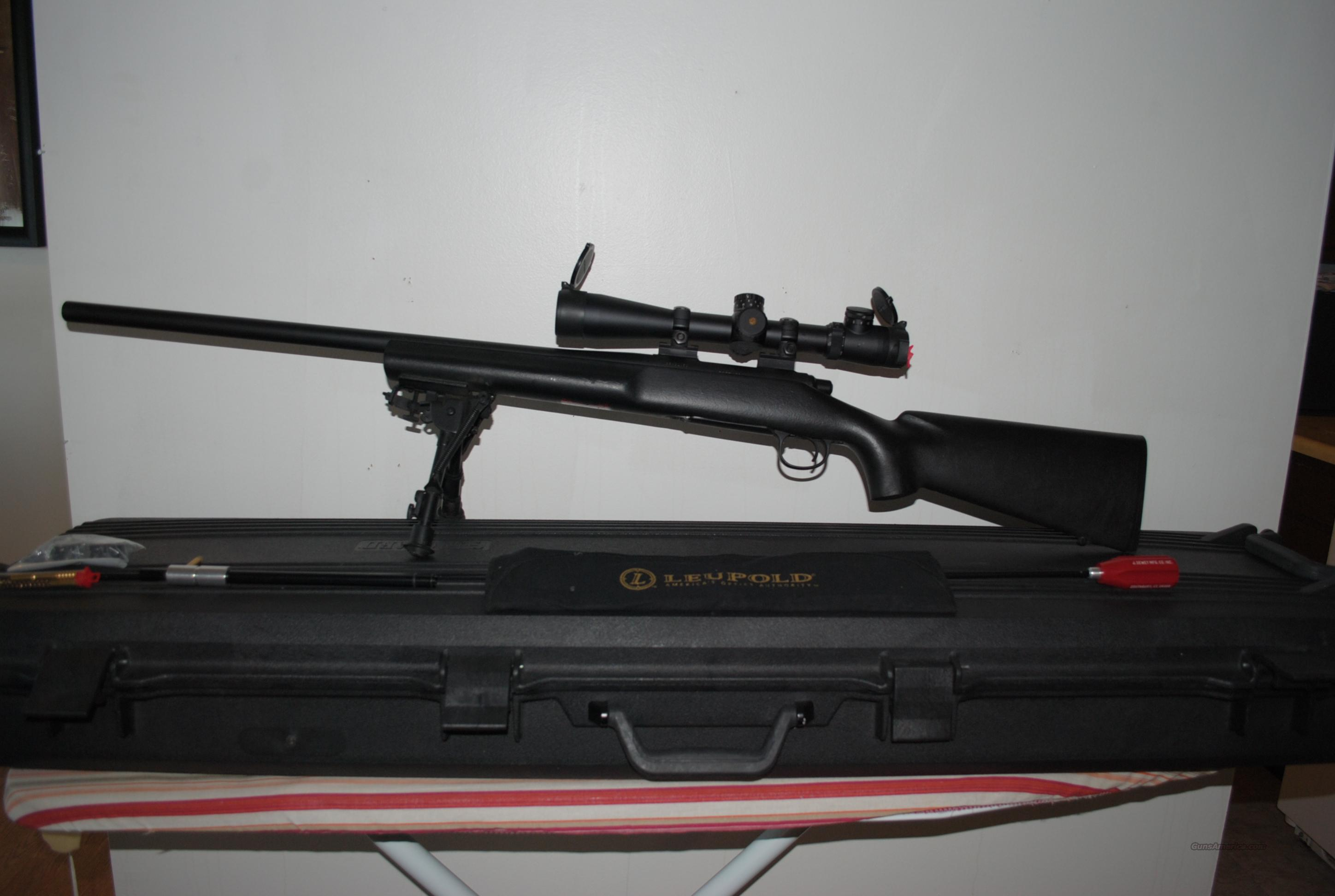 Remington 700 5R SS w/ leapold MK4 ILUM 3-10X  Guns > Rifles > Remington Rifles - Modern > Model 700 > Tactical