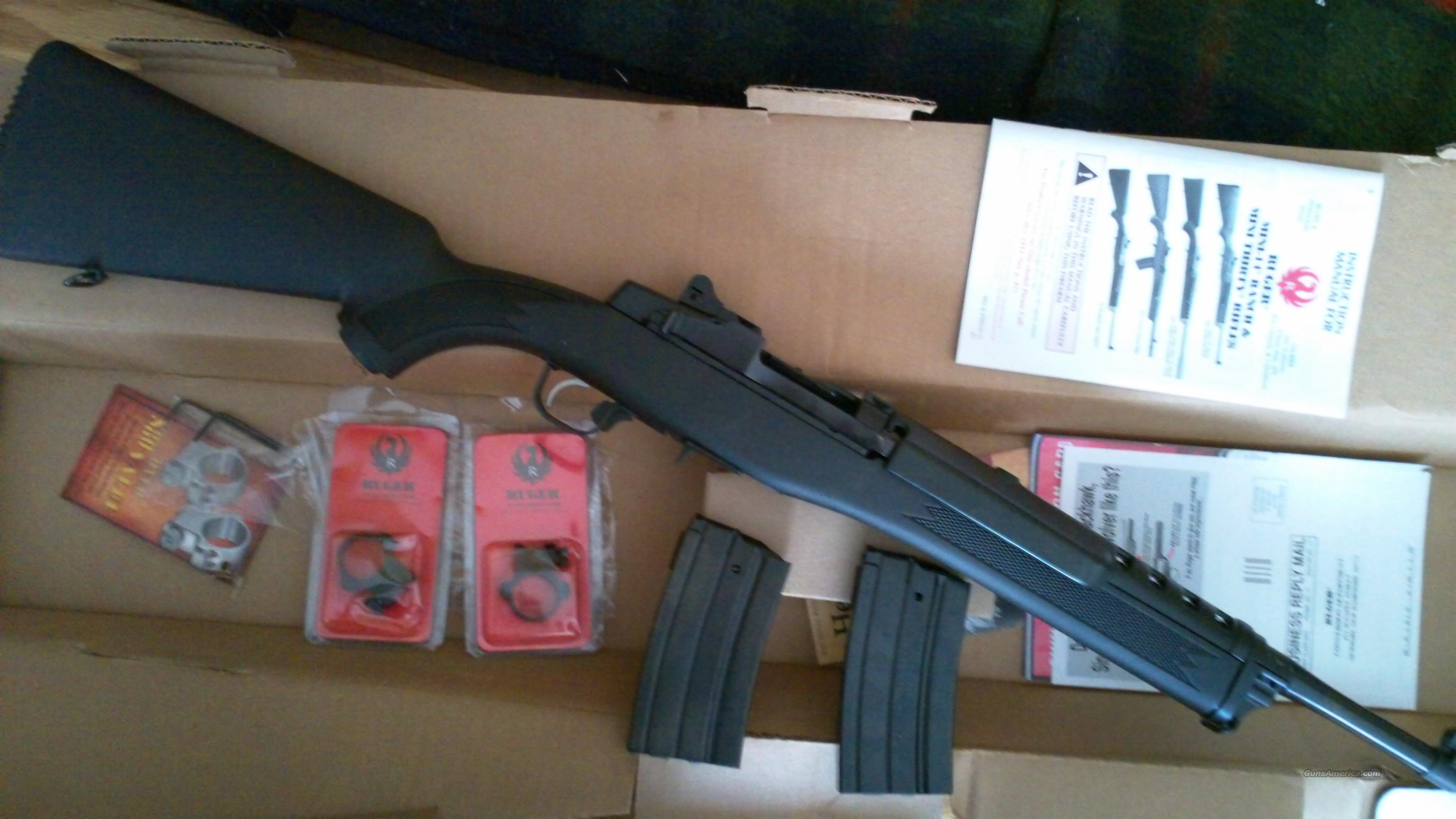 Ruger Mini-14 Tactical New     w/1-20 rd mag  Guns > Rifles > Ruger Rifles > Mini-14 Type