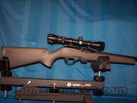 REMINGTON 597 .22LR WITH SCOPE   Guns > Rifles > Remington Rifles - Modern > .22 Rimfire Models
