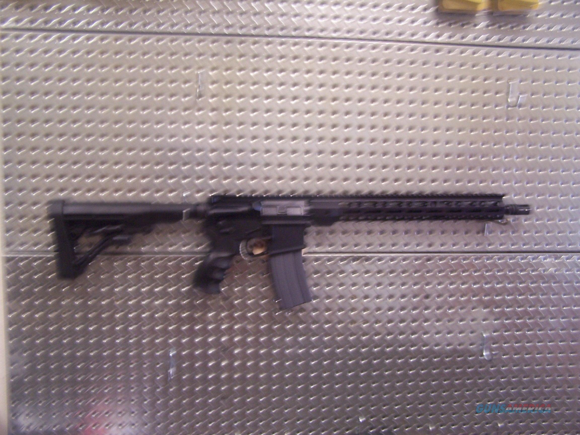 CUSTOM BUILT AR15. .223/5.56. LOTS OF GOOD STUFF AND WELL BUILT. NEVER BEEN FIRED!!!  Guns > Rifles > PQ Misc Rifles