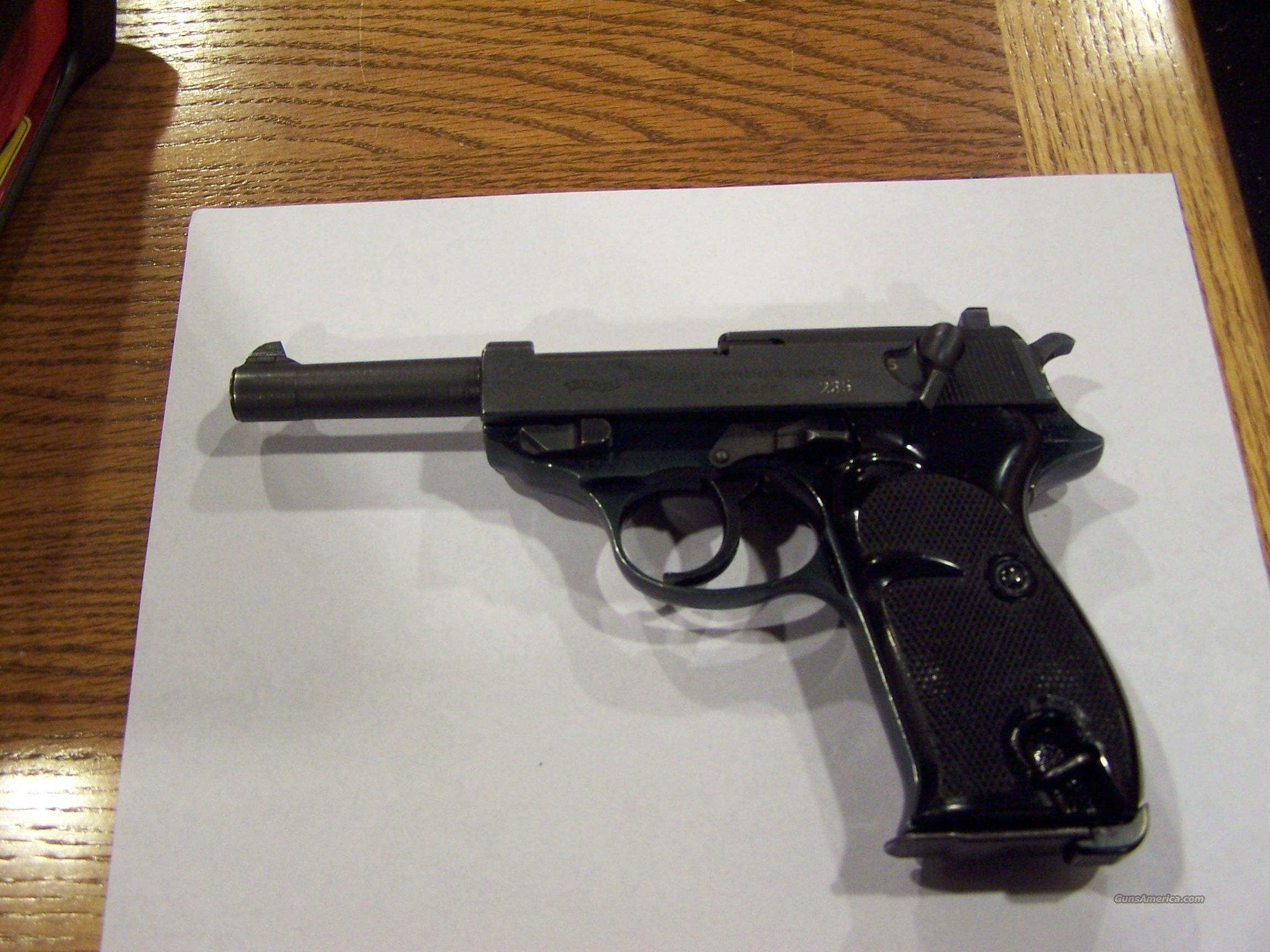 EXCELLENT  WALTHER P38/P1 ! 9MM  Guns > Pistols > Walther Pistols > Post WWII > PPK Series