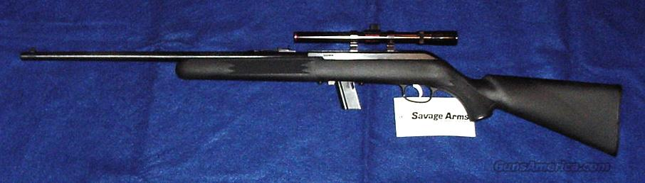 Savage 64FXP Semi-Auto .22 LR. Synthetic with Scope   Guns > Rifles > Savage Rifles > Other