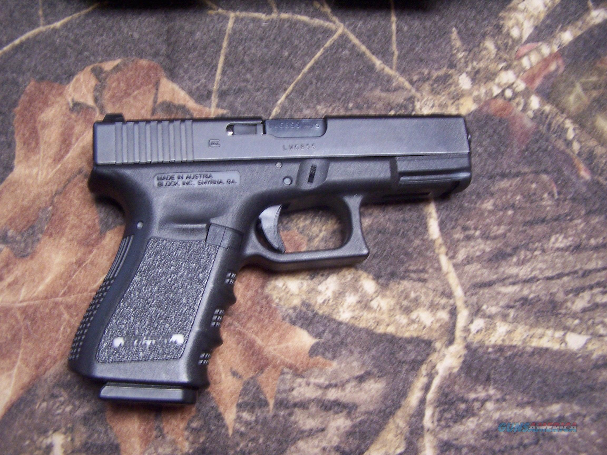 LEO Trade-In GEN 3 Glock 23 .40SW Handgun 13 rd. Includes 2 Glock mags. Very Good Condition. PRICE REDUCED!!!  Guns > Pistols > Glock Pistols > 23