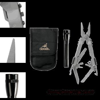 MilSurp Gerber Multi-Plier 600 Maintenance Kit Flashlight Combo. FREE SHIPPING !  Non-Guns > Miscellaneous