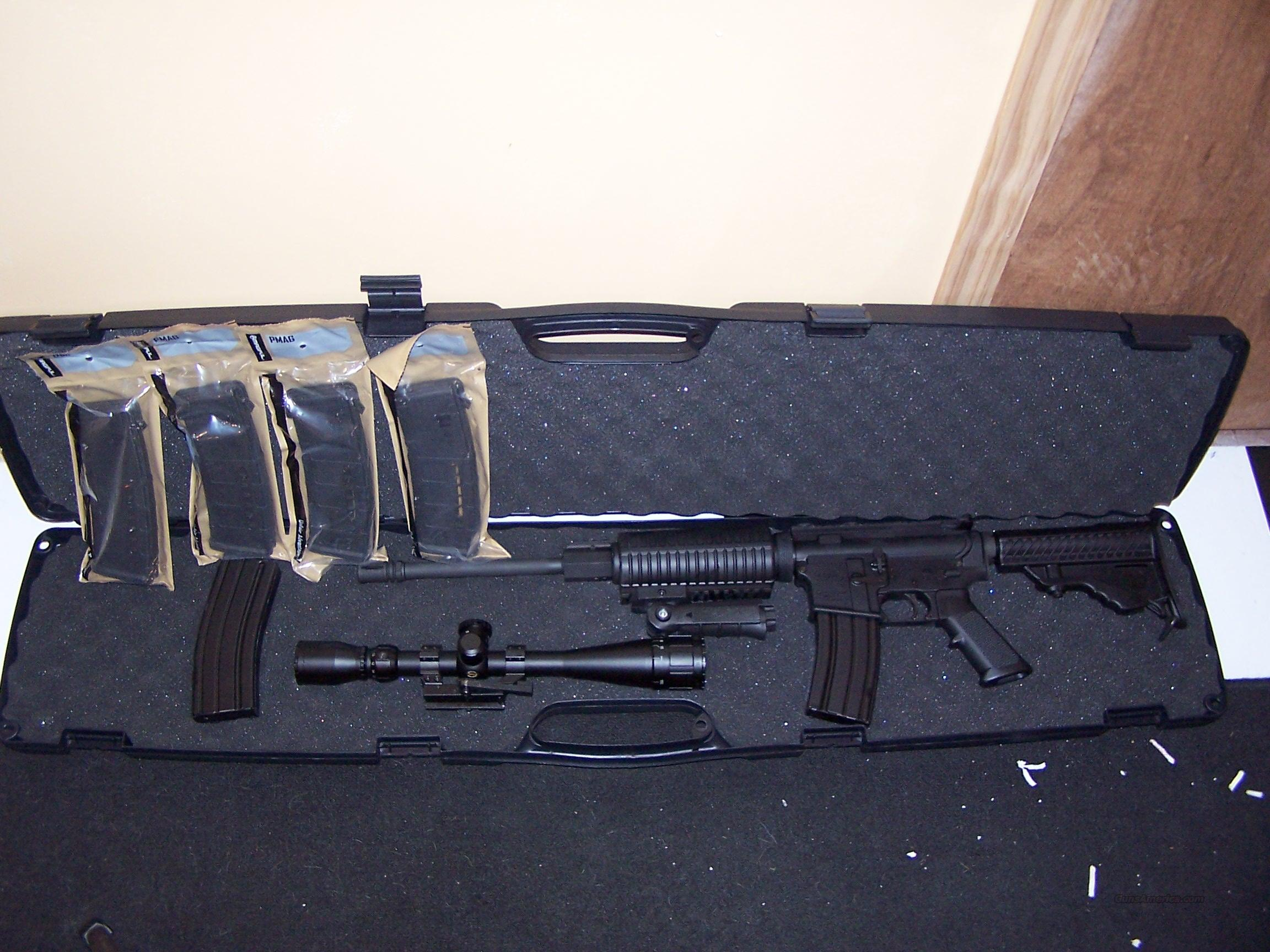 DPMS MODEL A-15. LOADED WITH EXTRAS !!!  Guns > Rifles > DPMS - Panther Arms > Complete Rifle