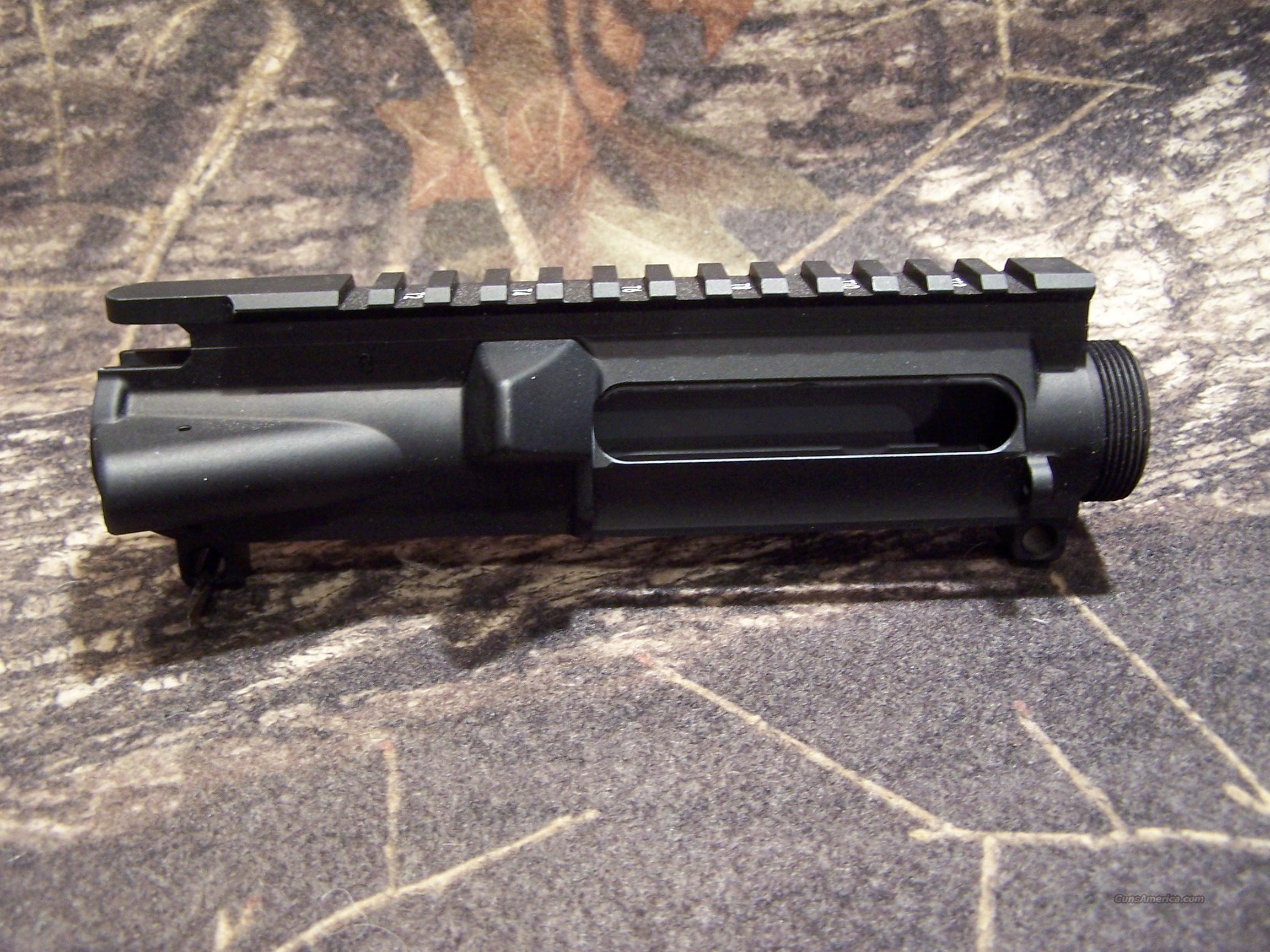 "Del-Ton AR-15 Flat Top Upper With T Marks (Stripped) ""FREE SHIPPING!""  Non-Guns > Gun Parts > M16-AR15"