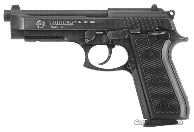 TAURUS PT92. BLUE. 9mm. NEW IN THE BOX !!!  Guns > Pistols > Taurus Pistols/Revolvers > Pistols > Steel Frame
