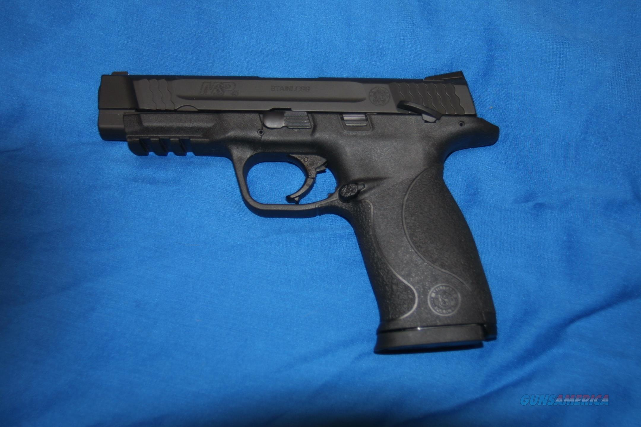 Used Smith & Wesson M&P45LE. 45 ACP with Night Sights. Law Enforcement Trade. Excellent Condition.   Guns > Pistols > Smith & Wesson Pistols - Autos > Polymer Frame