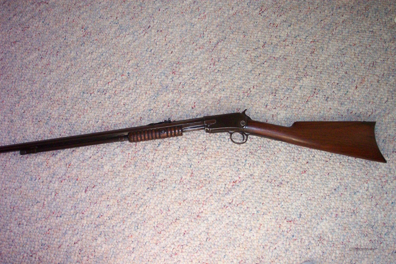 Winchester Model 1890 .22LR (Mfd 1900)  Guns > Rifles > Winchester Rifles - Modern Pump