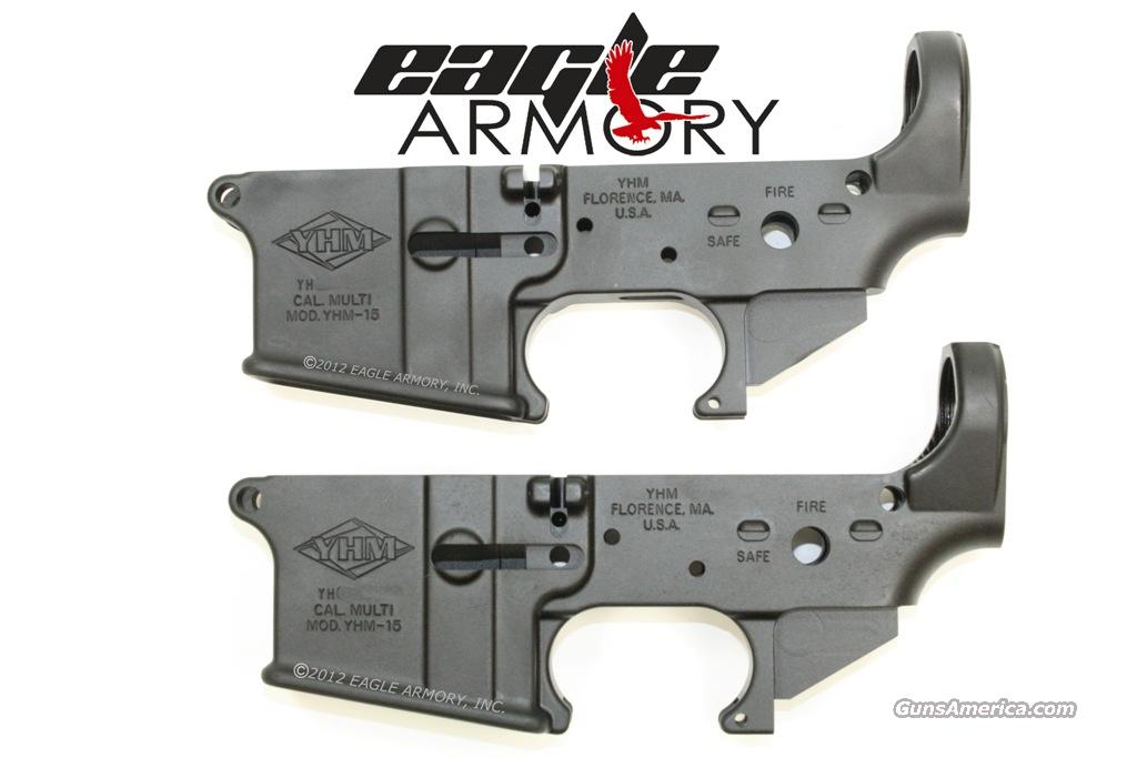 2 YHM Stripped AR15 Lowers With Consecutive Serial Numbers  Guns > Rifles > AR-15 Rifles - Small Manufacturers > Lower Only