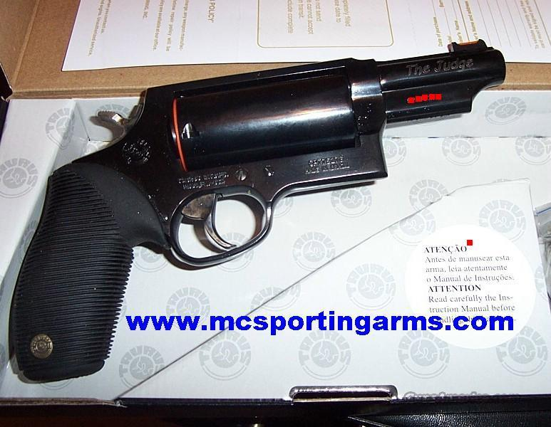 The Judge 3in MAGNUM 3 in Barrel NEW  Guns > Pistols > Taurus Pistols/Revolvers > Revolvers