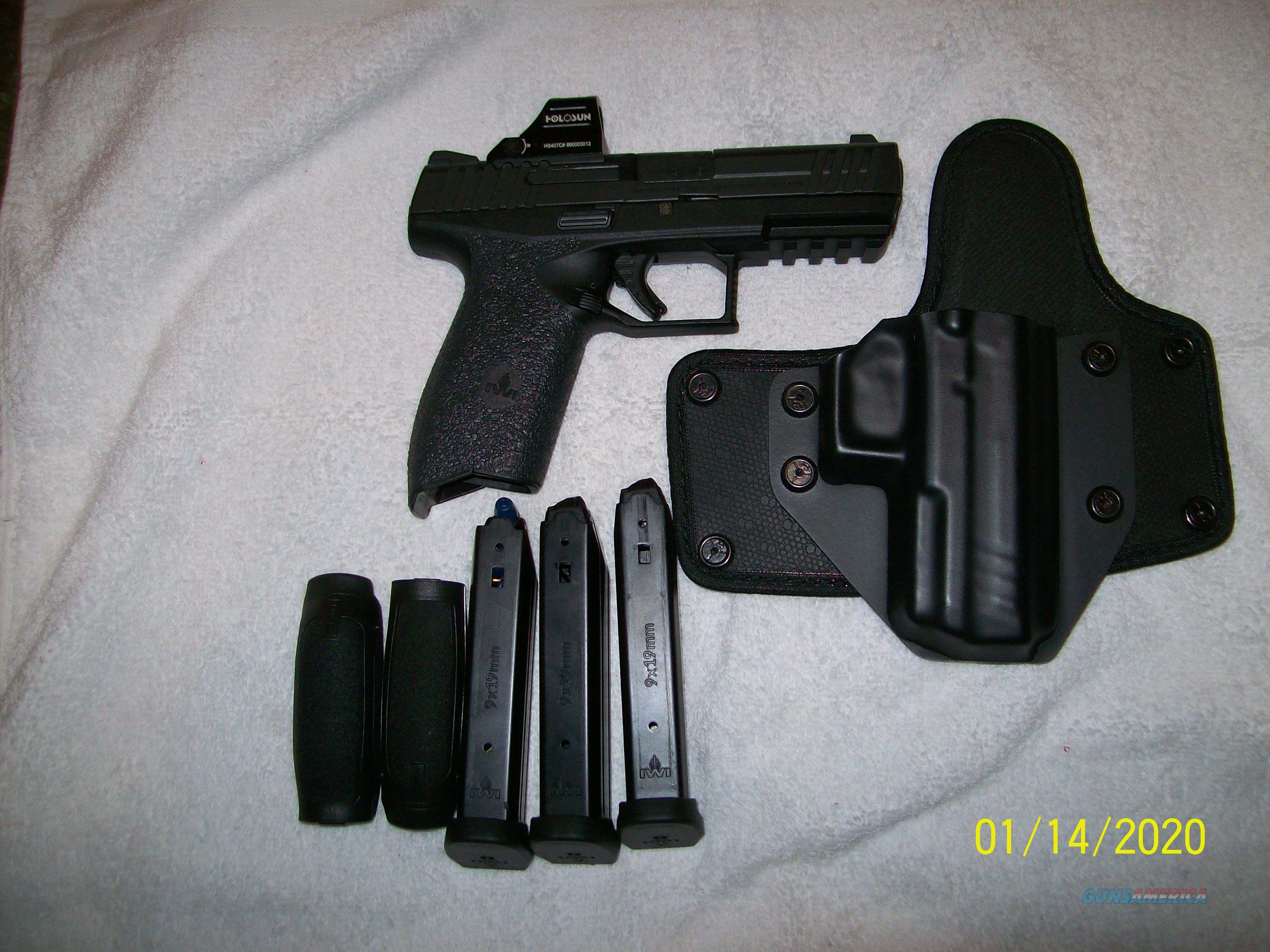 Masada pistol like new   Guns > Pistols > IMI Pistols