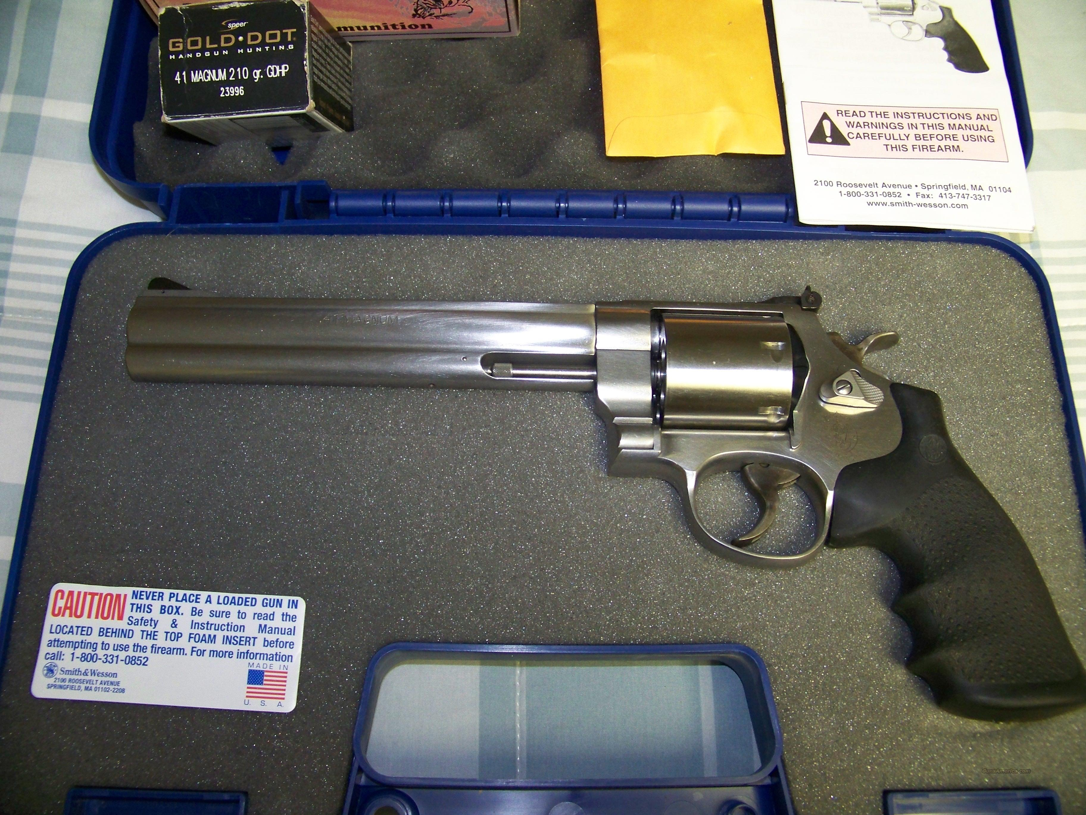 SMITH AND WESSON 657-5  Guns > Pistols > Smith & Wesson Revolvers > Full Frame Revolver