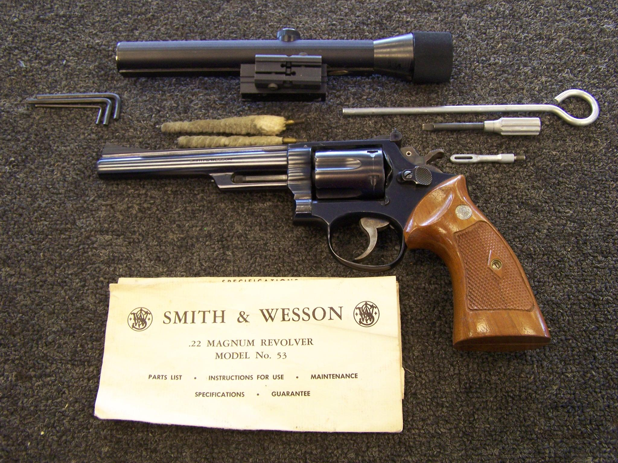 Smith & Wesson 53-2  Guns > Pistols > Smith & Wesson Revolvers > Full Frame Revolver