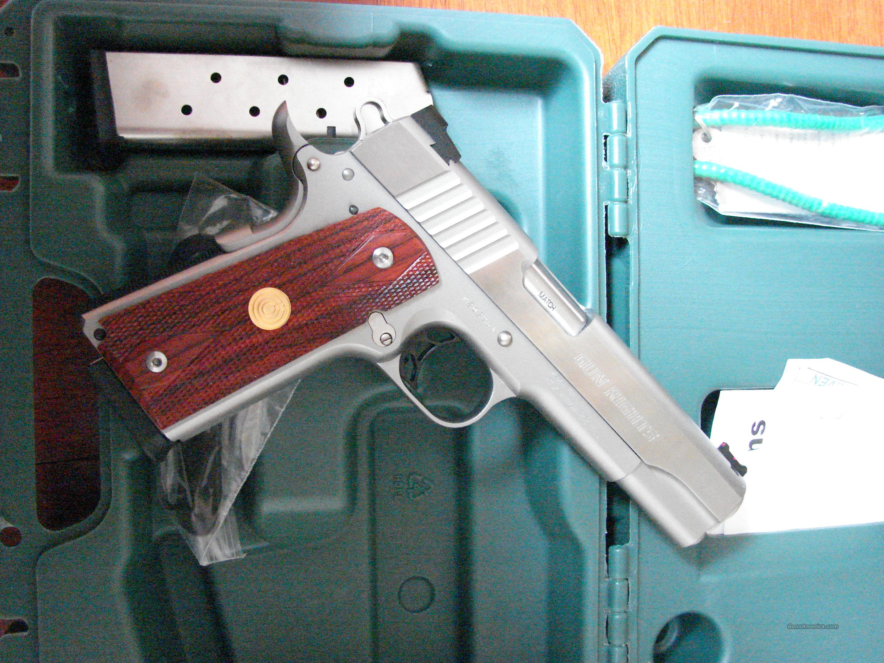 "Para Ordnance .45acp stainless PX745S GR  5"" barrel ""Gun Rights"" unfired NIB   Guns > Pistols > Para Ordnance Pistols"