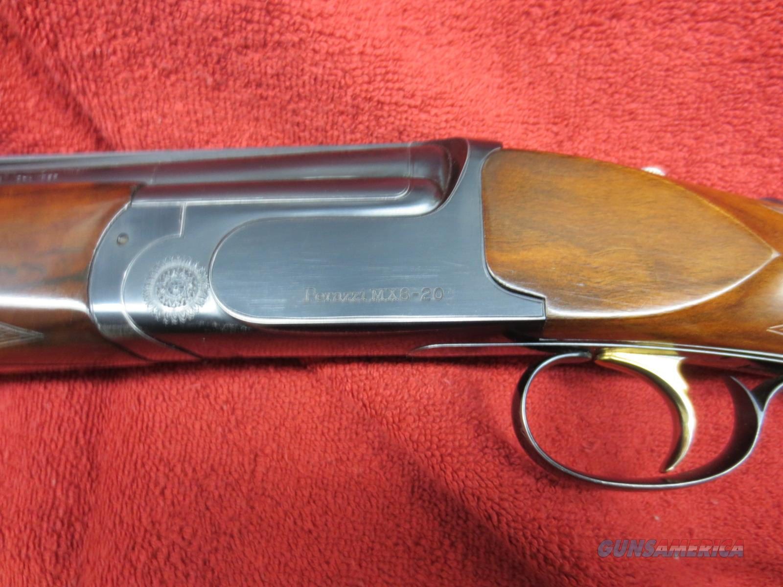 "Perazzi MX8-20 , 29.5"" barrels. with Briley light weight 28ga and .410 full length tubes  Guns > Shotguns > Perazzi Shotguns"