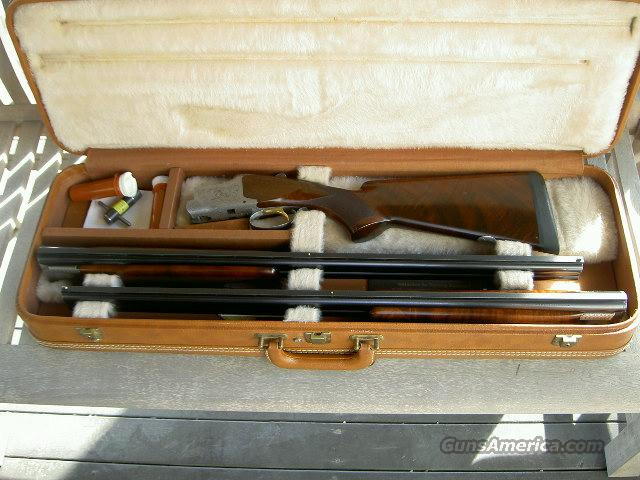 "Pigeon Grade Browning Superposed 12ga. Two barrel set, 28"" barrels  Guns > Shotguns > Browning Shotguns > Over Unders > Belgian Manufacture"