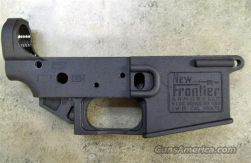New Frontier Armory Polymer AR 15 Stripped Lower Receiver  Guns > Rifles > MN Misc Rifles