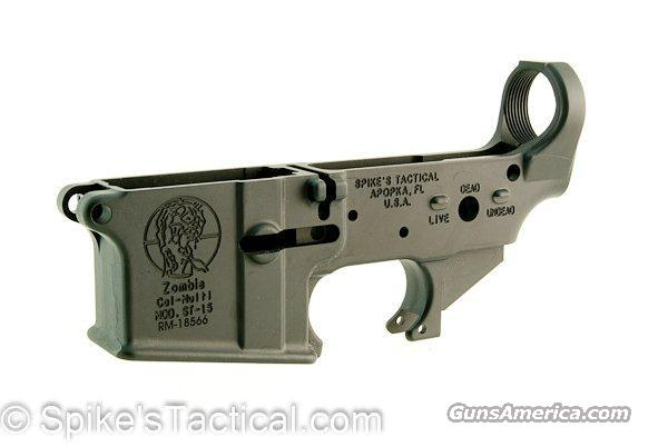 Spikes Tactical Zombie Stripped Lower  Guns > Rifles > S Misc Rifles