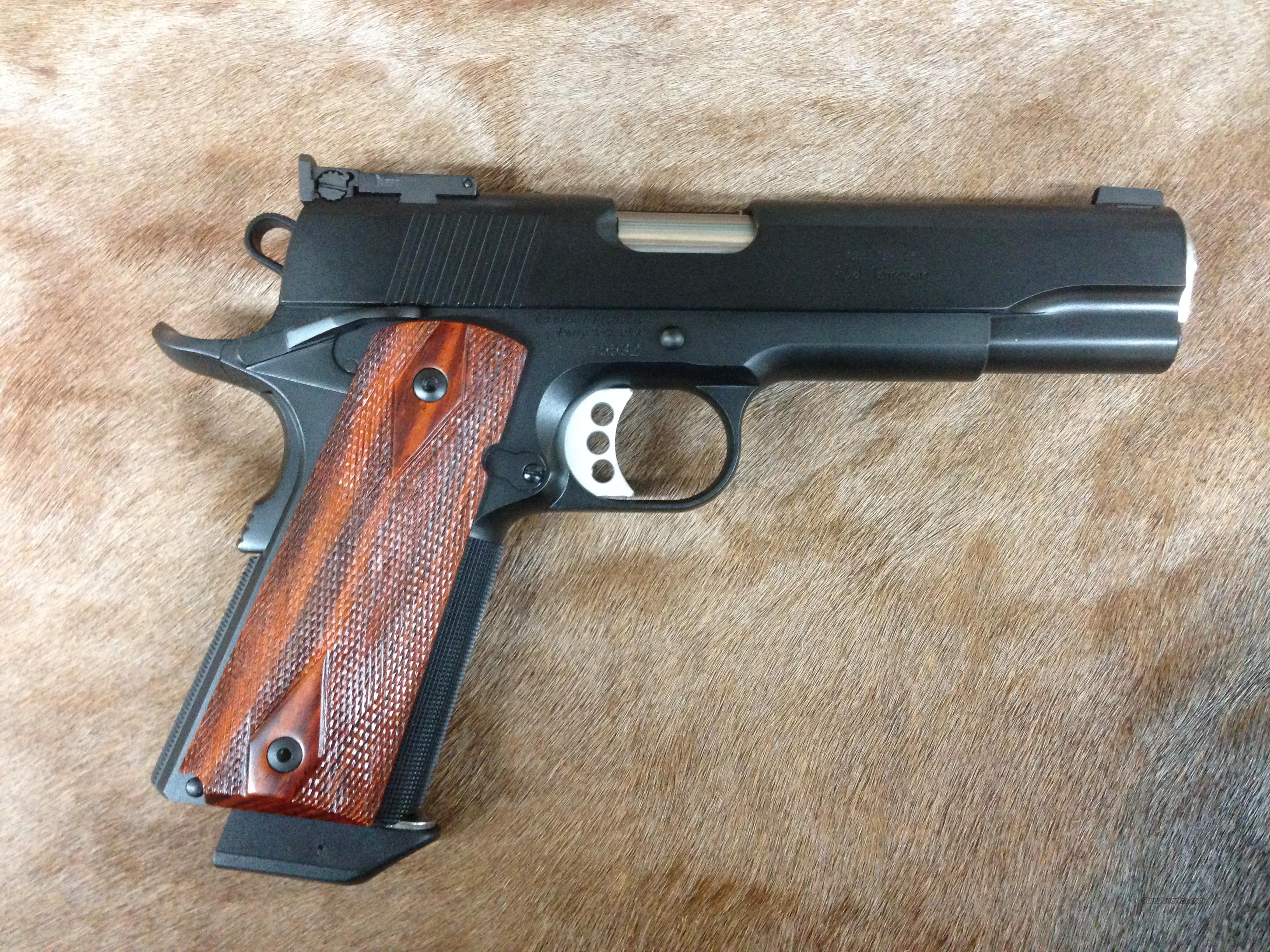 Ed Brown Executive Elite Target .45  Guns > Pistols > Ed Brown Pistols