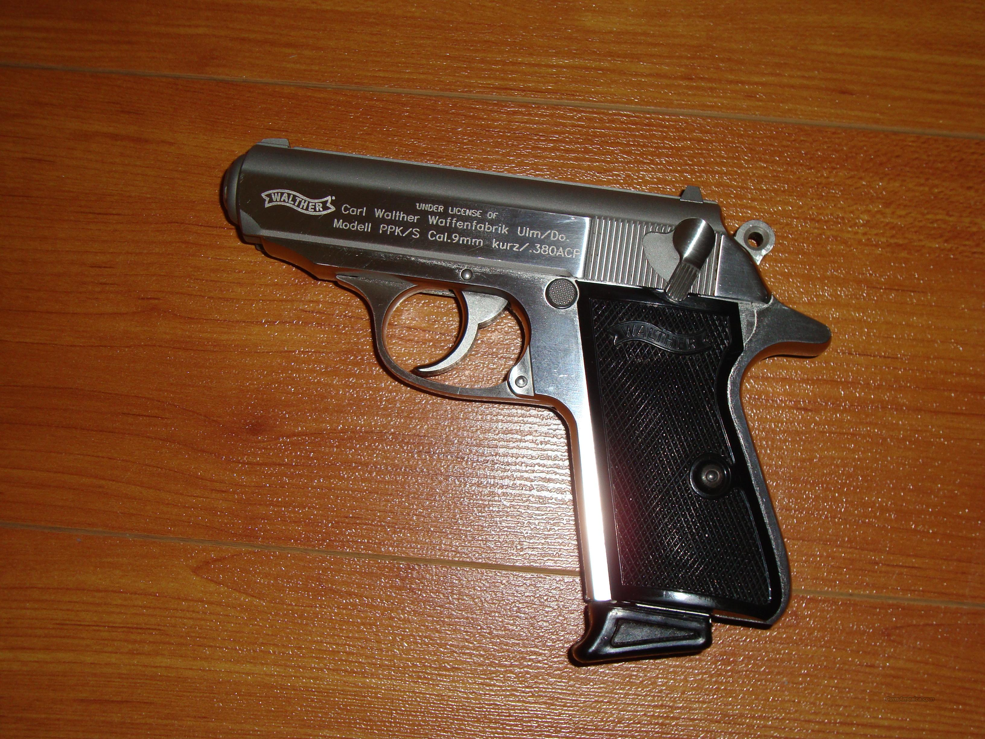 WALTHER PPK/S-1  Guns > Pistols > Walther Pistols > Post WWII > PP Series