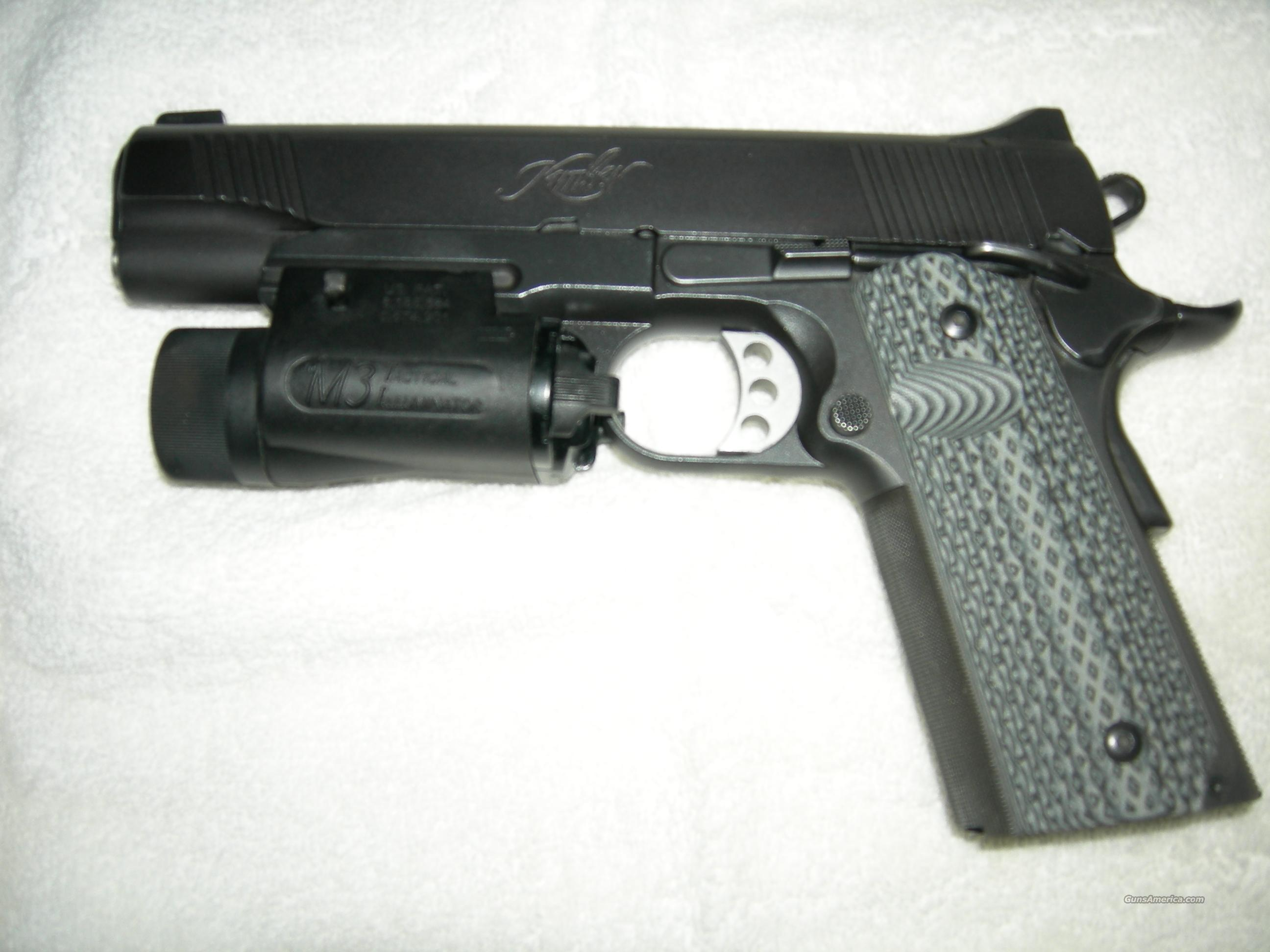 Kimber TLE With Rail and Light  Guns > Pistols > 1911 Pistol Copies (non-Colt)