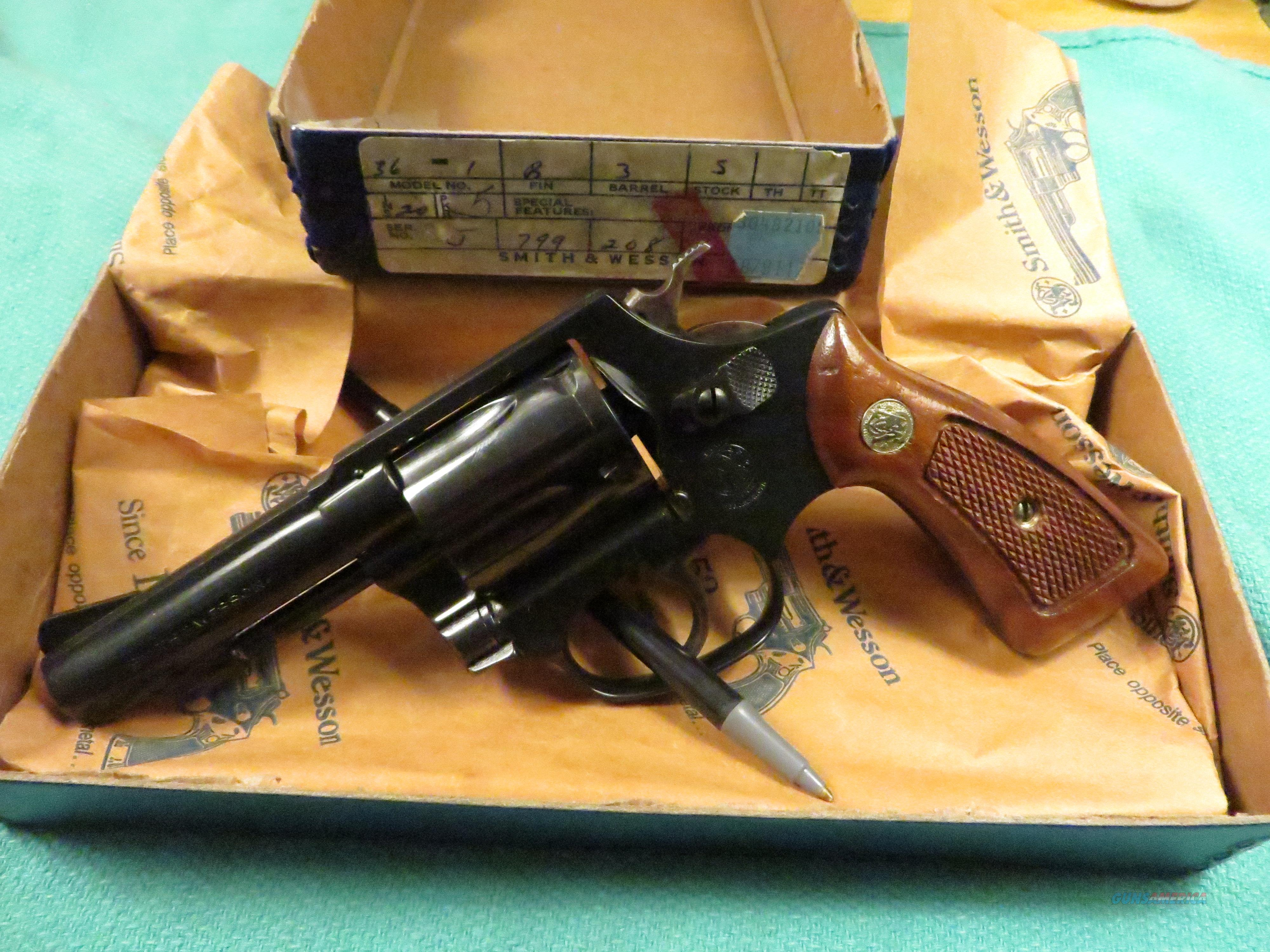 "Smith&Wesson Model 36  38Spl 3"" Barrel  Guns > Pistols > Smith & Wesson Revolvers > Small Frame ( J )"