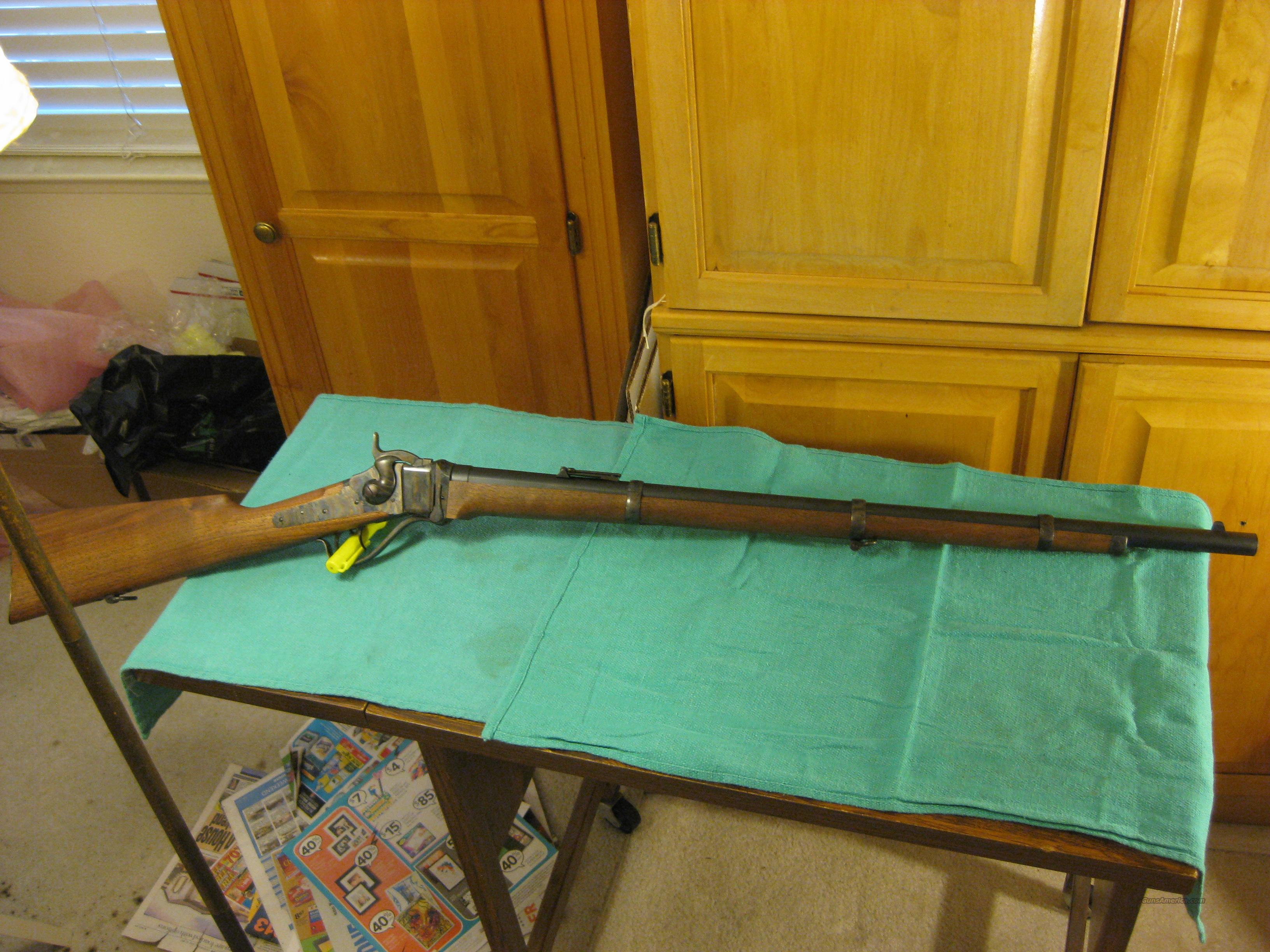 Shiloh Sharps Military Rifle 30-40 Krag  Guns > Rifles > Sharps Rifles - Replica