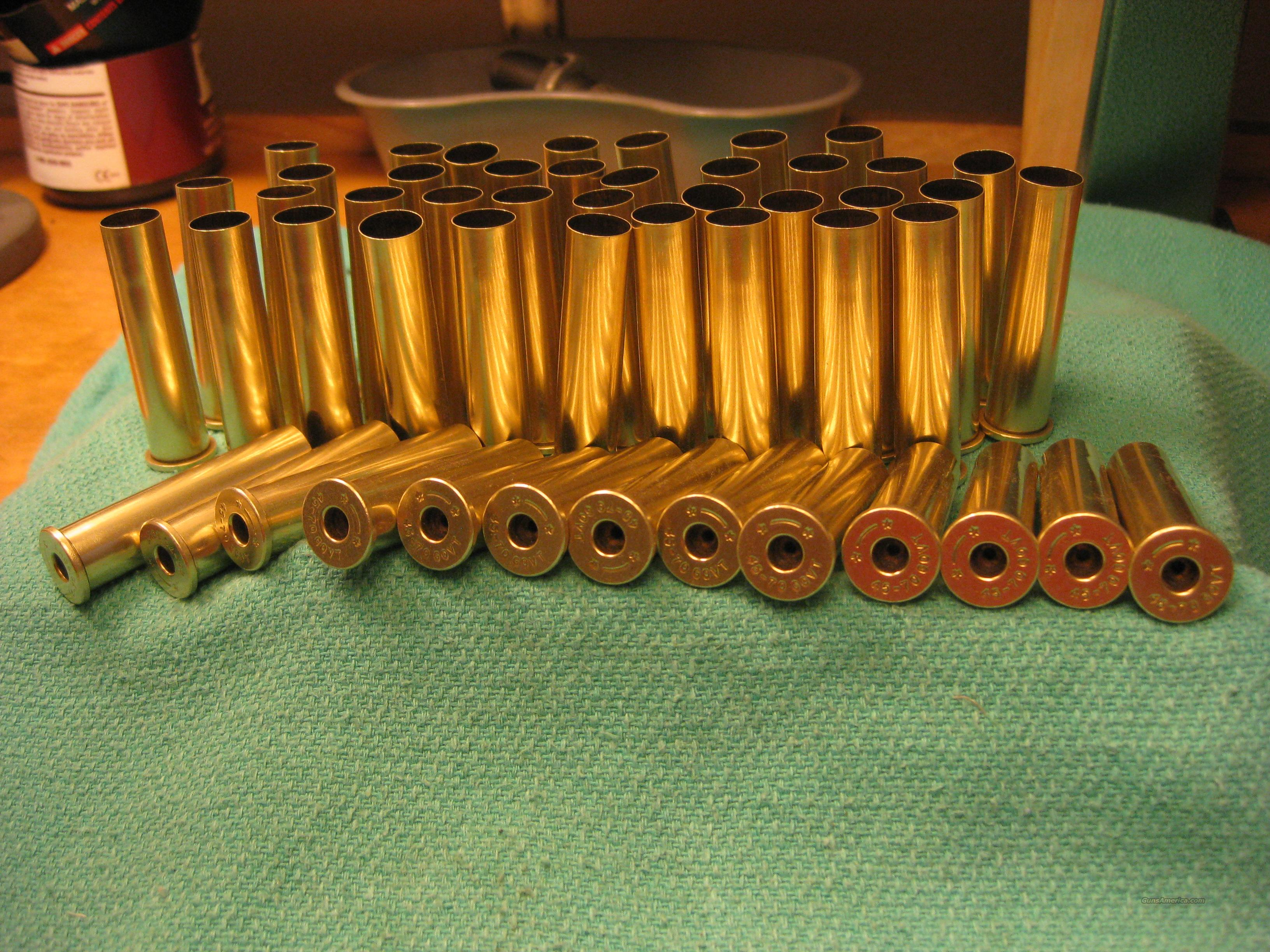 Starline 45-70 brass 50pcs used  Non-Guns > Reloading > Components > Brass