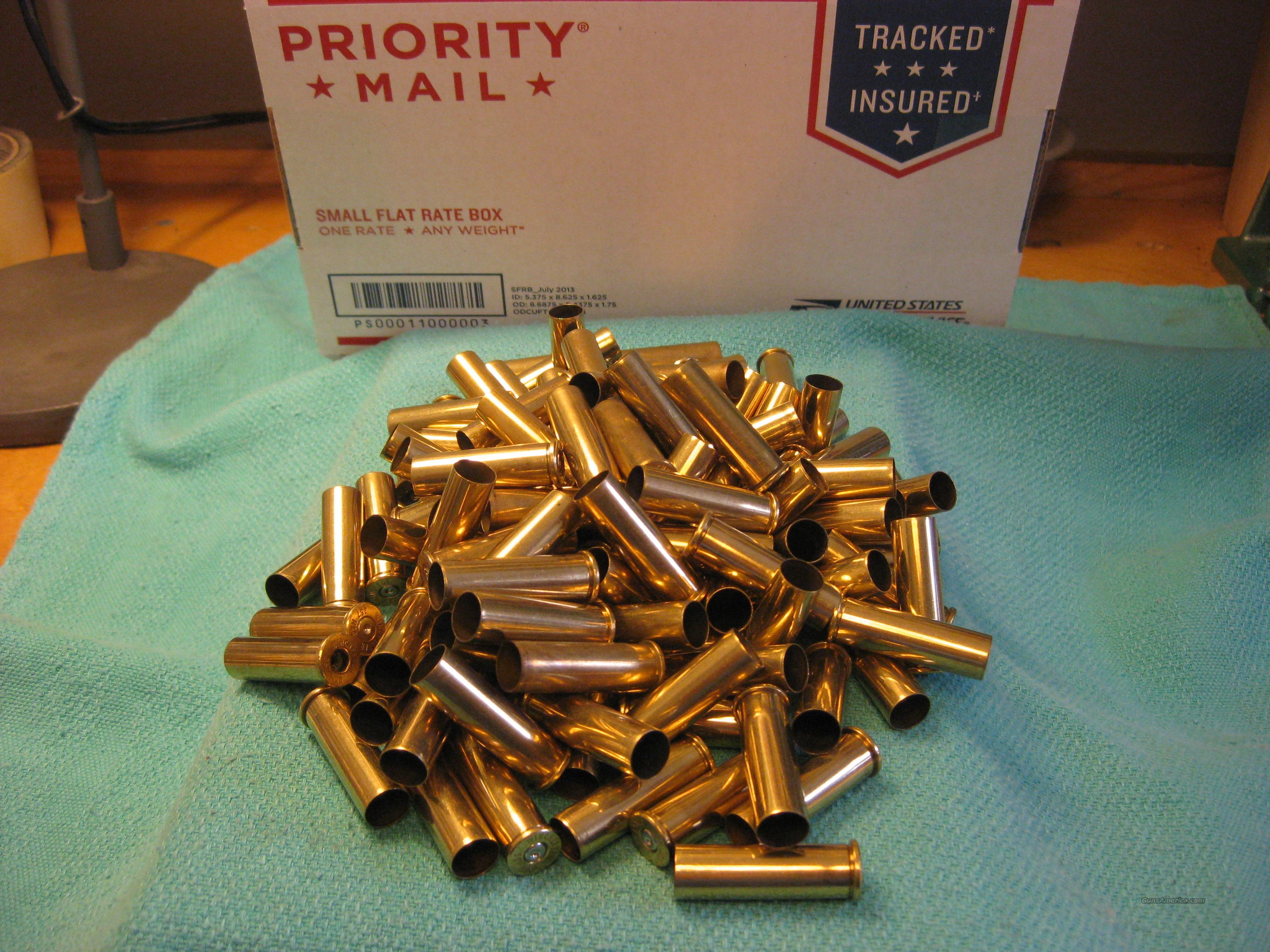 357 brass used winchester 125pcs  Non-Guns > Reloading > Components > Brass