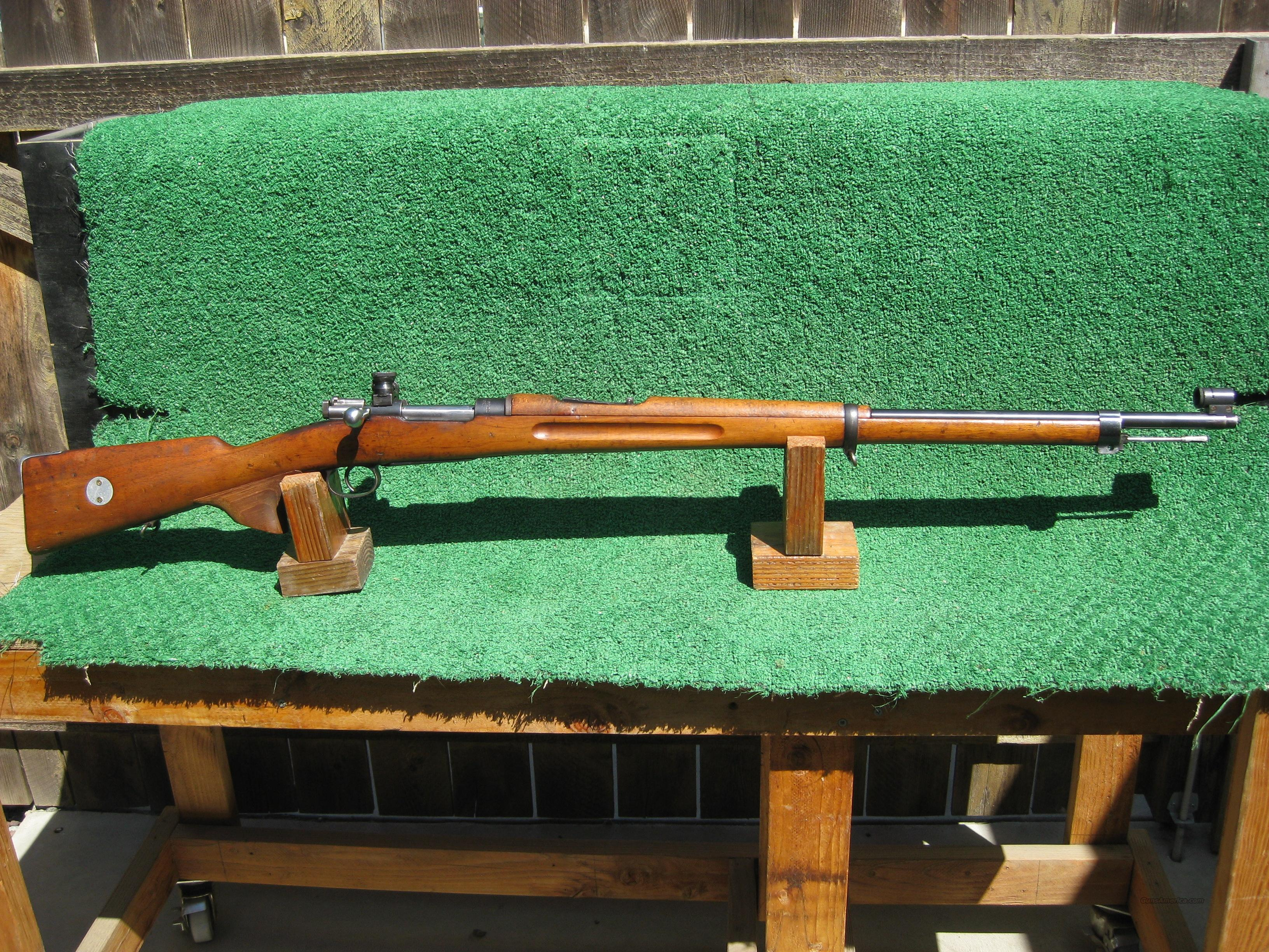 Swedish Mauser 6.5X55 1905 Target Sights  Guns > Rifles > Military Misc. Rifles Non-US > Other