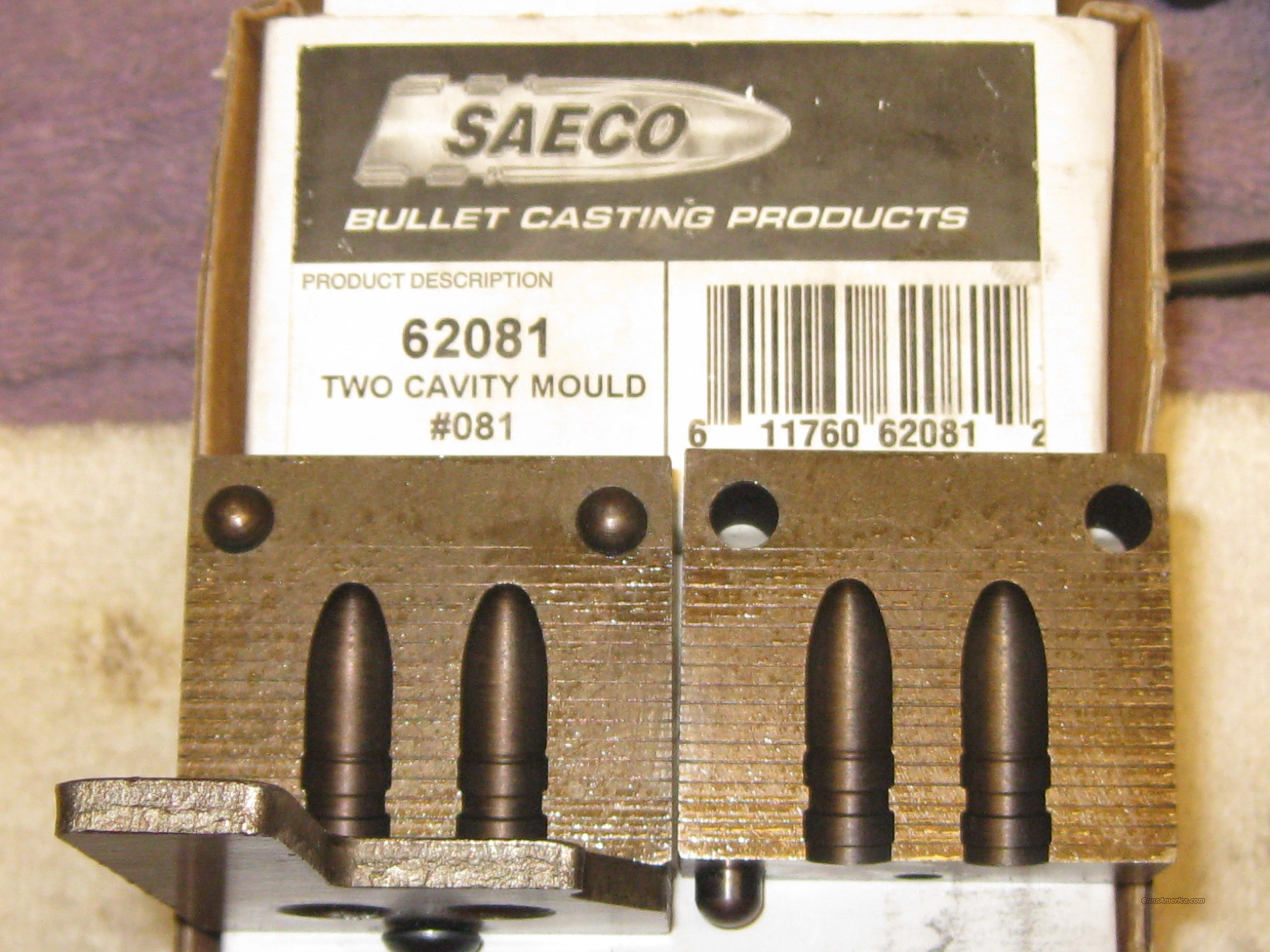 Saeco bullet mold 8mm/.323 190gr. RN #081  Guns > Rifles > Mauser Rifles > German