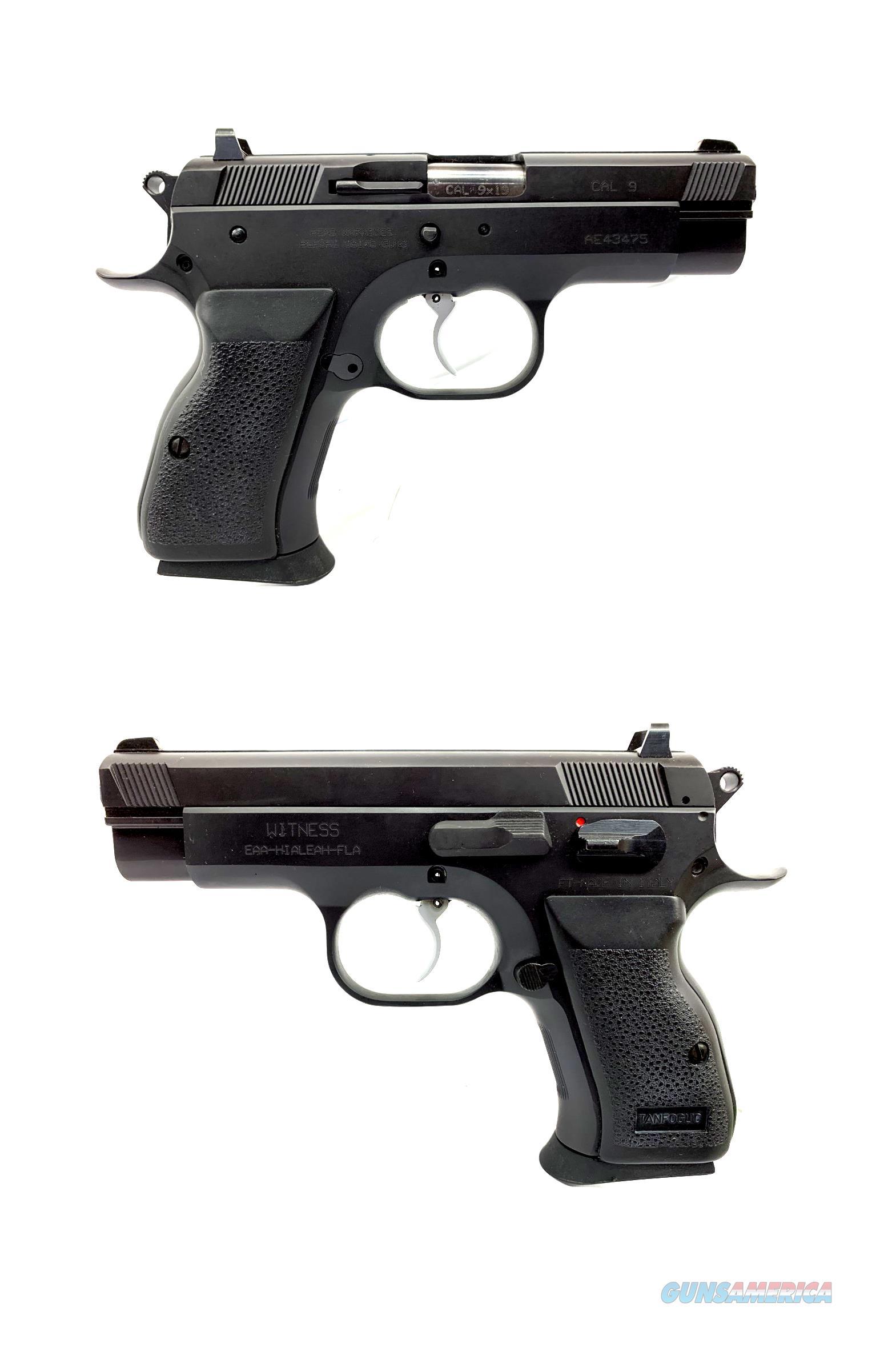 EAA Witness 9MM Semi-Automatic Pistol  Guns > Pistols > EAA Pistols > Other