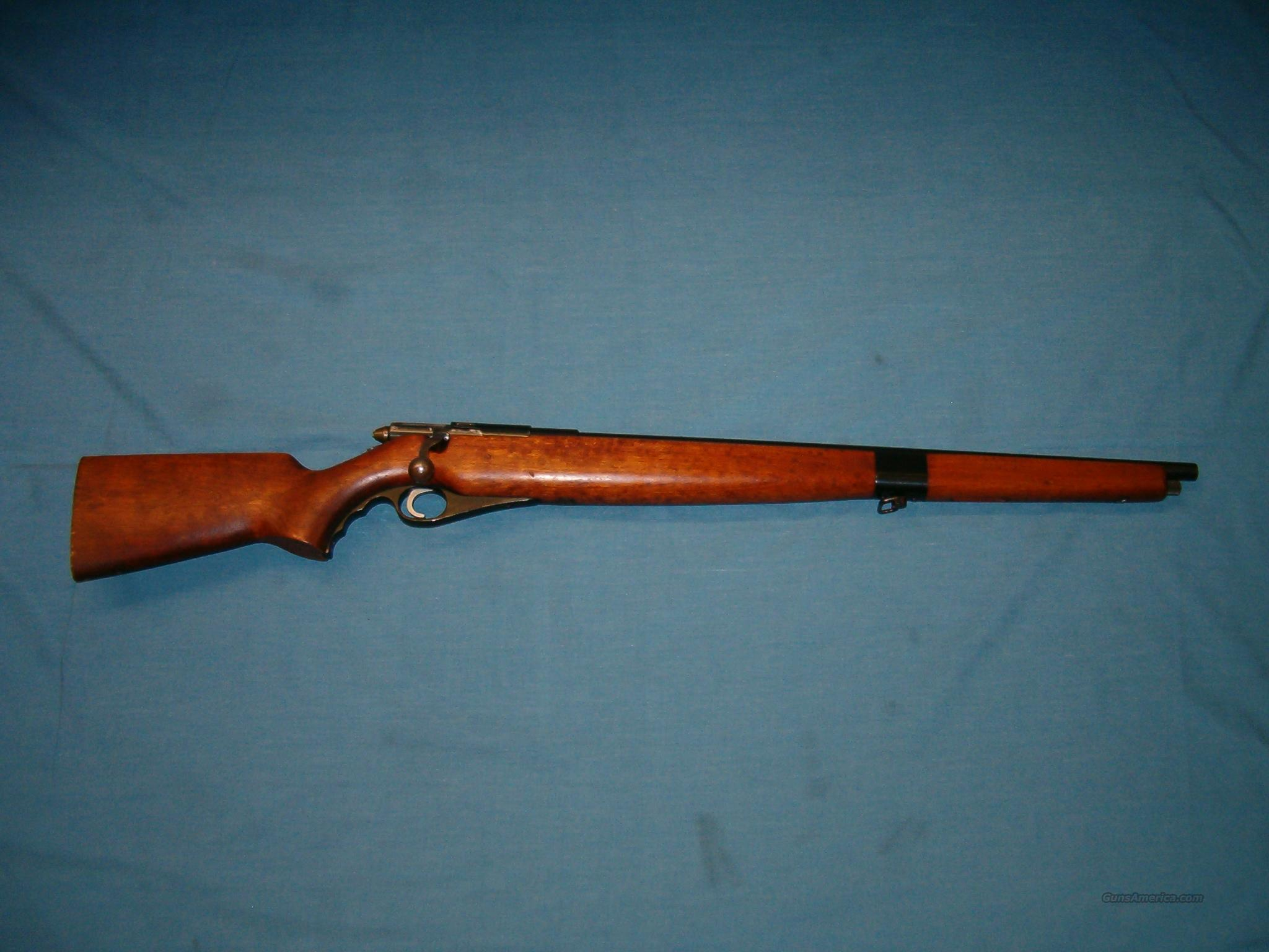 Mossberg 46M  circa 1940-45 .22 cal training rifle  Guns > Rifles > Mossberg Rifles > Other Bolt Action
