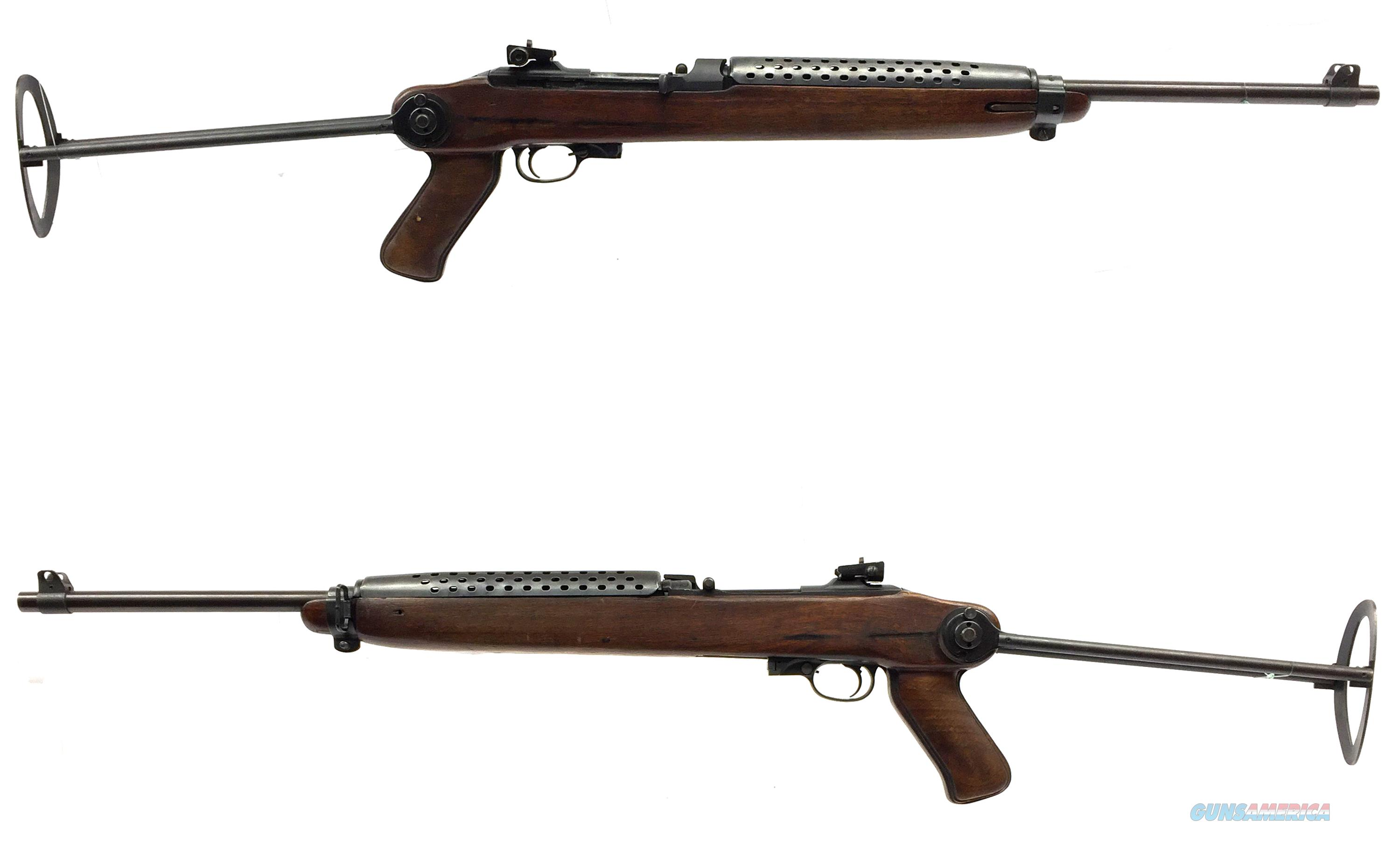 Plainfield M-2 Carbine Paratrooper W/ Select-Fire **( Price Reduced )**  Guns > Rifles > PQ Misc Rifles