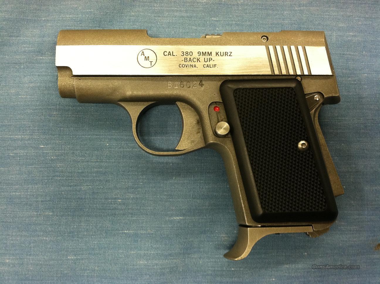 AMT Backup II Pistol .380 auto  Guns > Pistols > AMT Pistols > Other