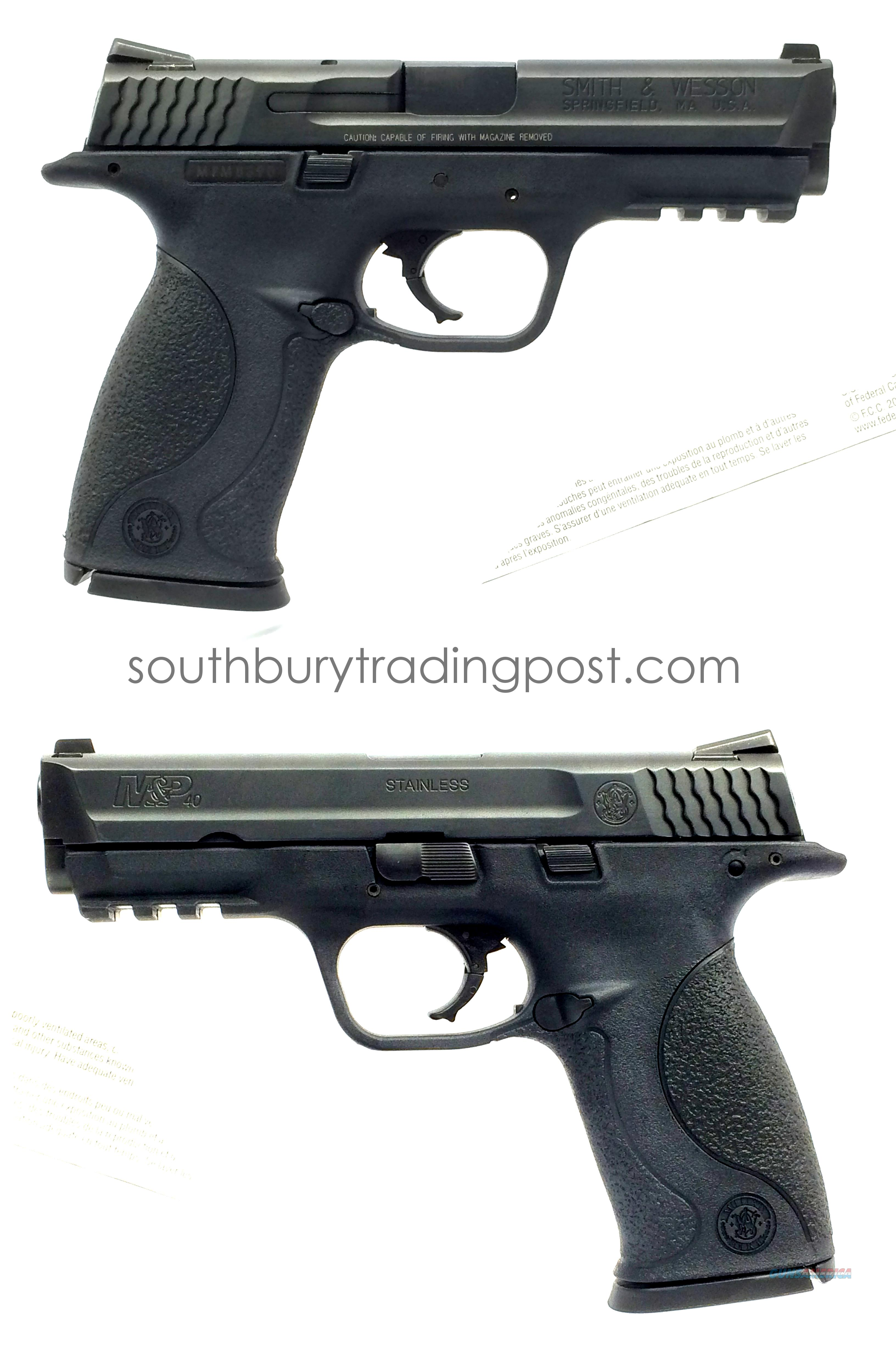 Smith & Wesson M&P40 (.40S&W) Range Kit  Guns > Pistols > Smith & Wesson Pistols - Autos > Polymer Frame