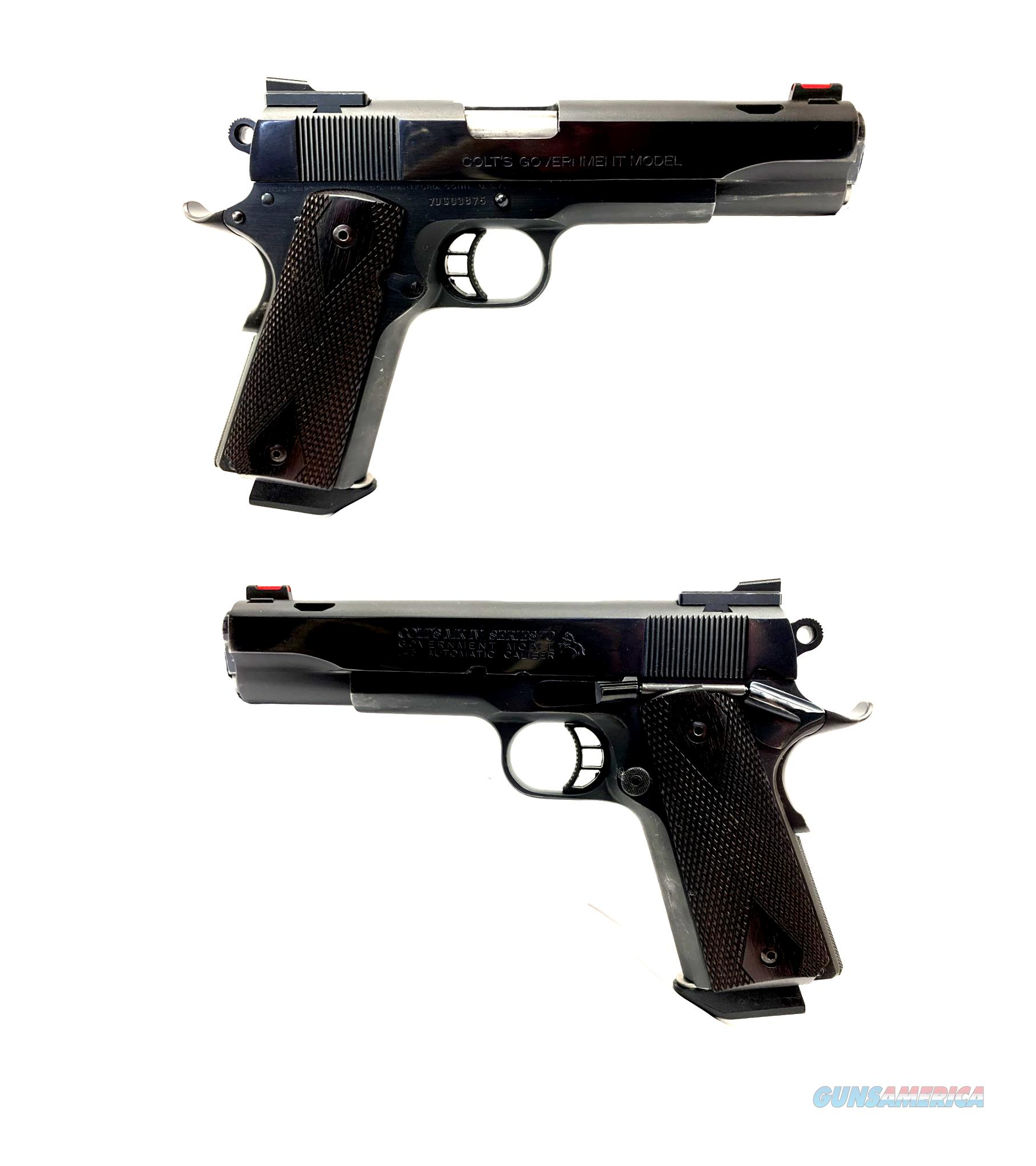 Colt Government 1911 MK IV Series 70 Semi-Automatic Pistol  Guns > Pistols > Colt Automatic Pistols (1911 & Var)