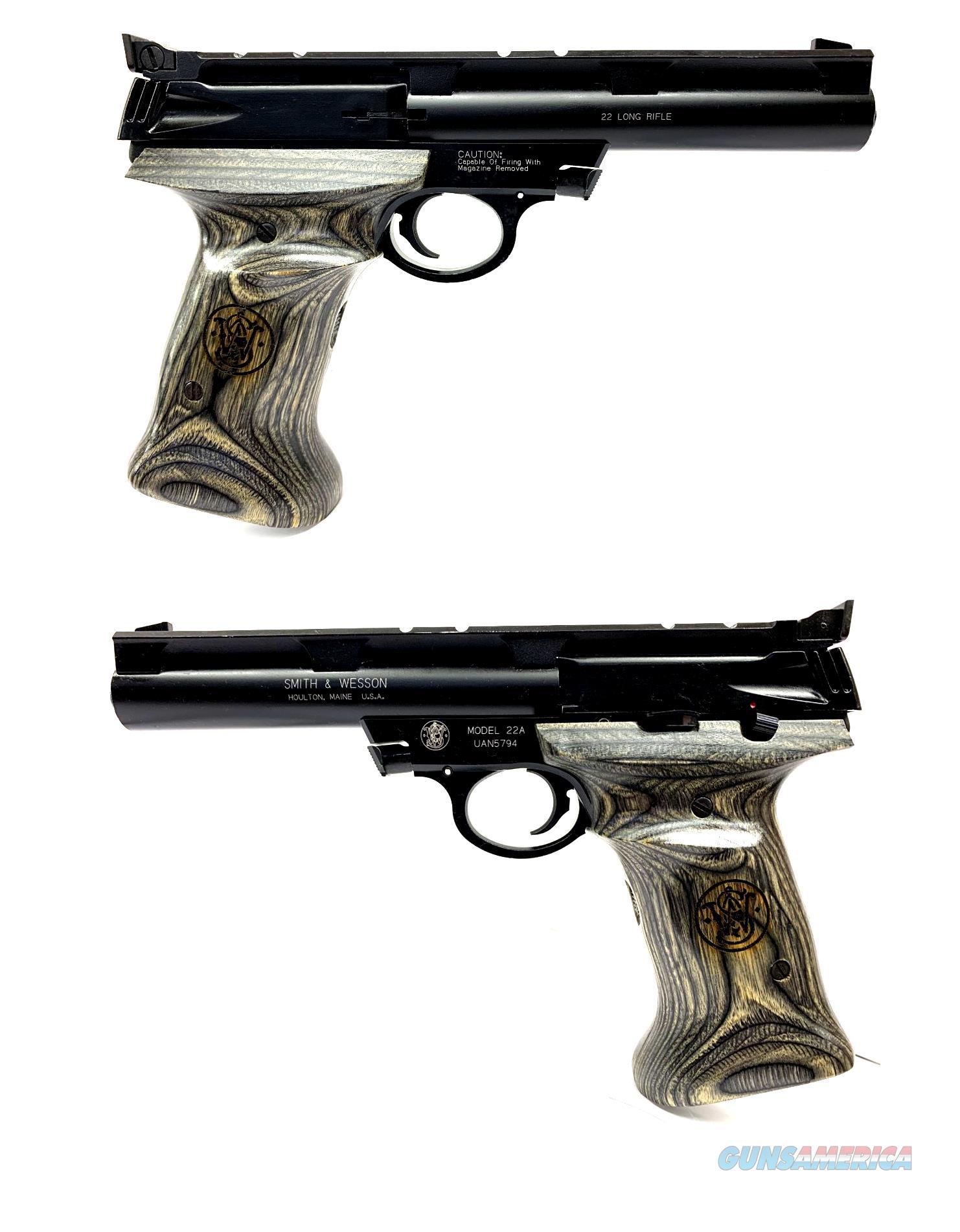 Smith & Wesson Model 22A Semi-Automatic Pistol  Guns > Pistols > Smith & Wesson Pistols - Autos > Alloy Frame
