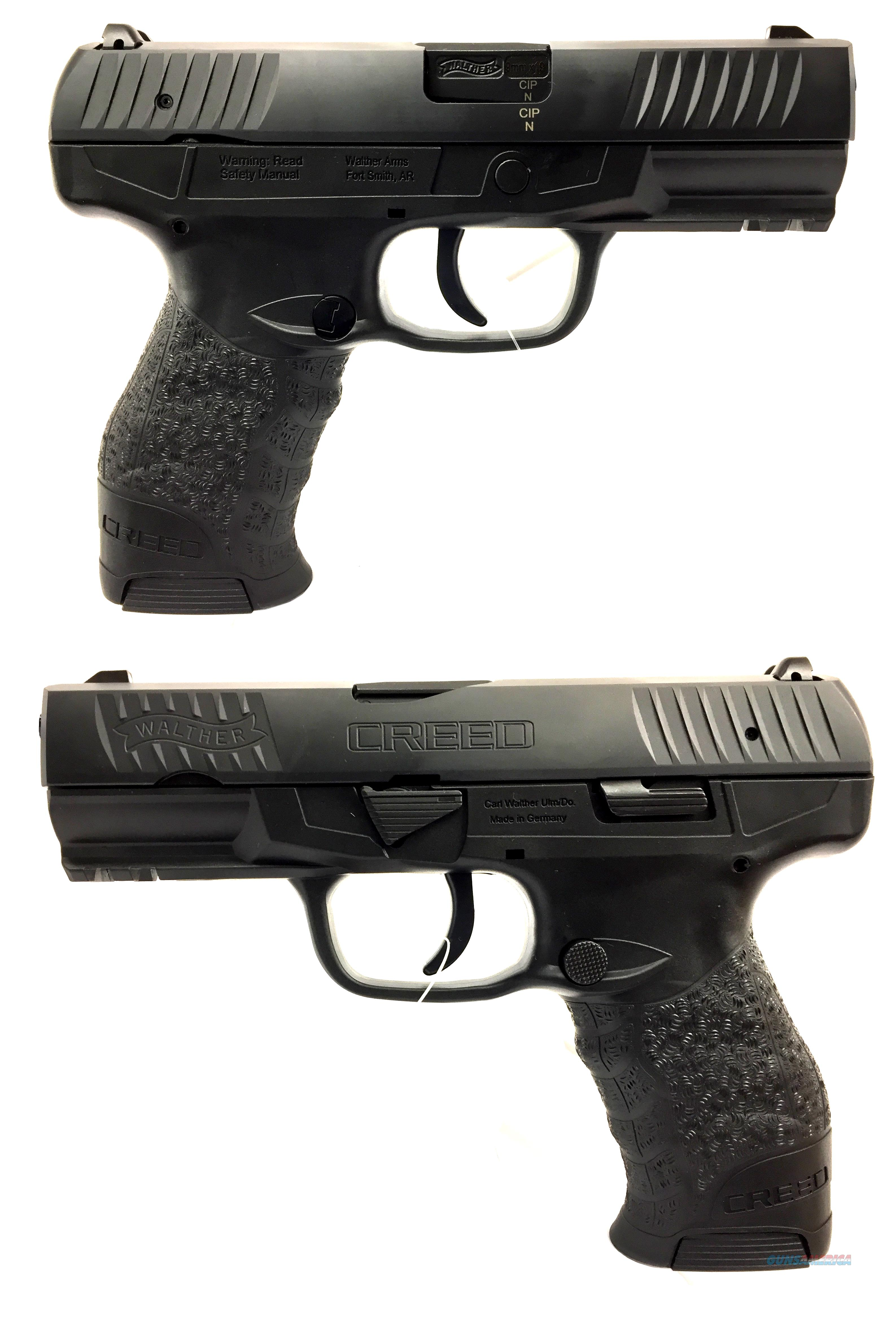 Walther Creed 9MM Semi-Automatic Pistol  Guns > Pistols > Walther Pistols > Post WWII > Creed